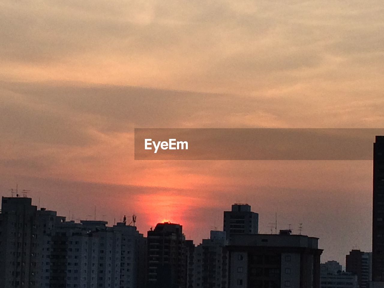 sunset, architecture, building exterior, city, skyscraper, built structure, no people, cityscape, sky, modern, residential, outdoors