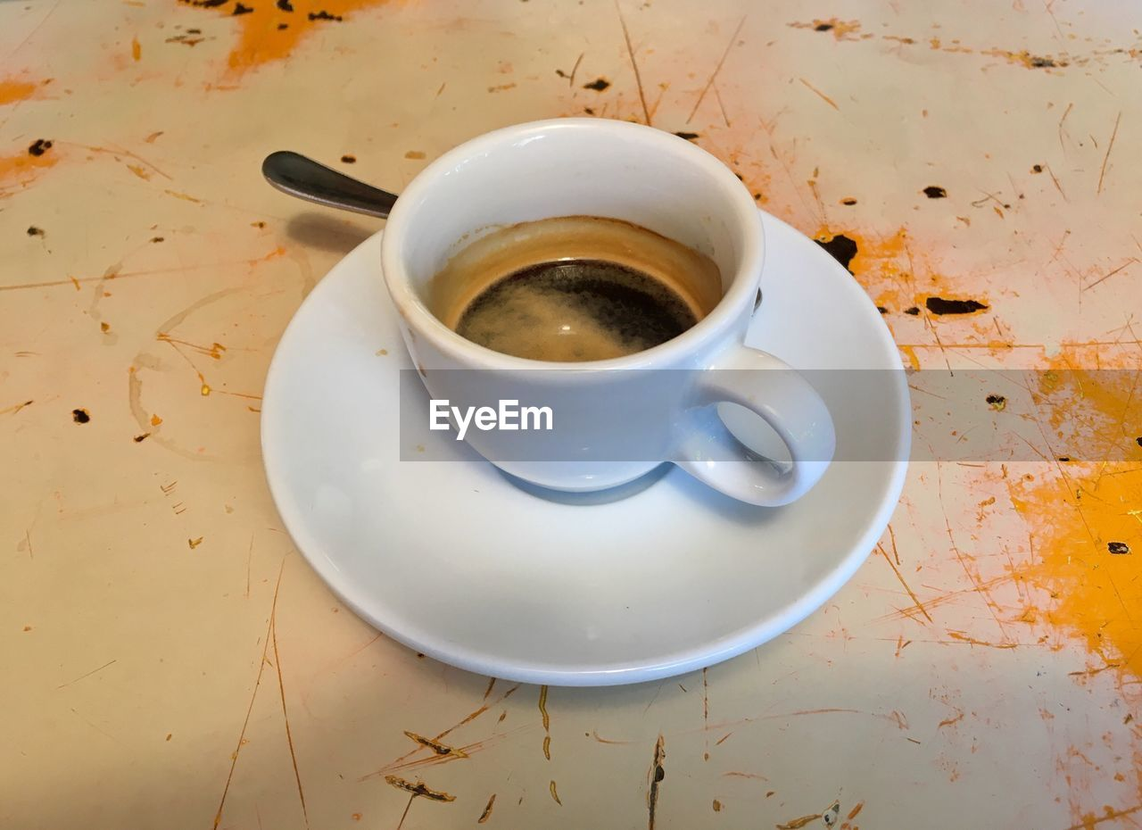 refreshment, saucer, food and drink, drink, table, coffee cup, no people, freshness, leftovers, indoors, close-up, food, day