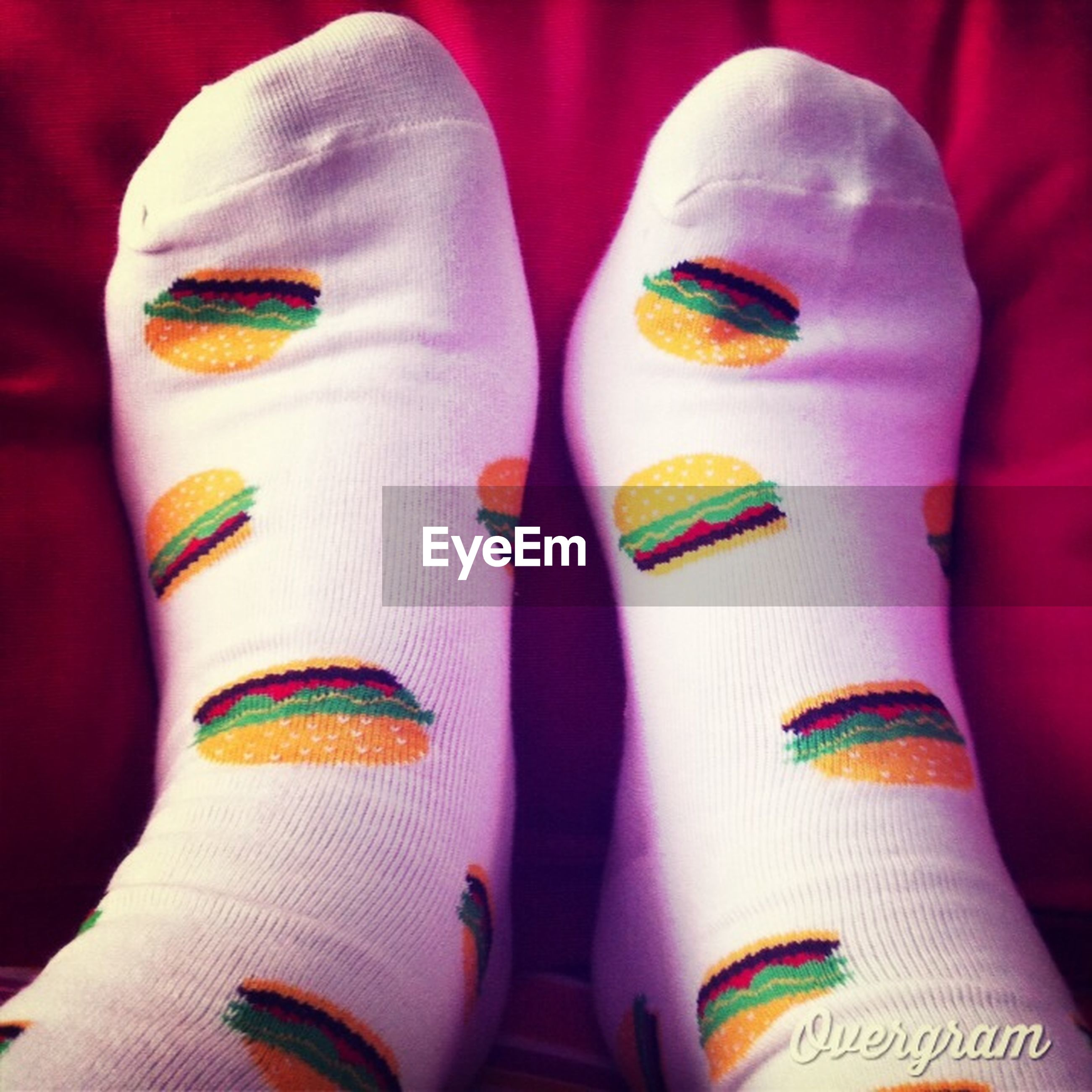 indoors, shoe, person, low section, personal perspective, close-up, multi colored, variation, lifestyles, high angle view, fashion, part of, footwear, pair, unrecognizable person, human foot