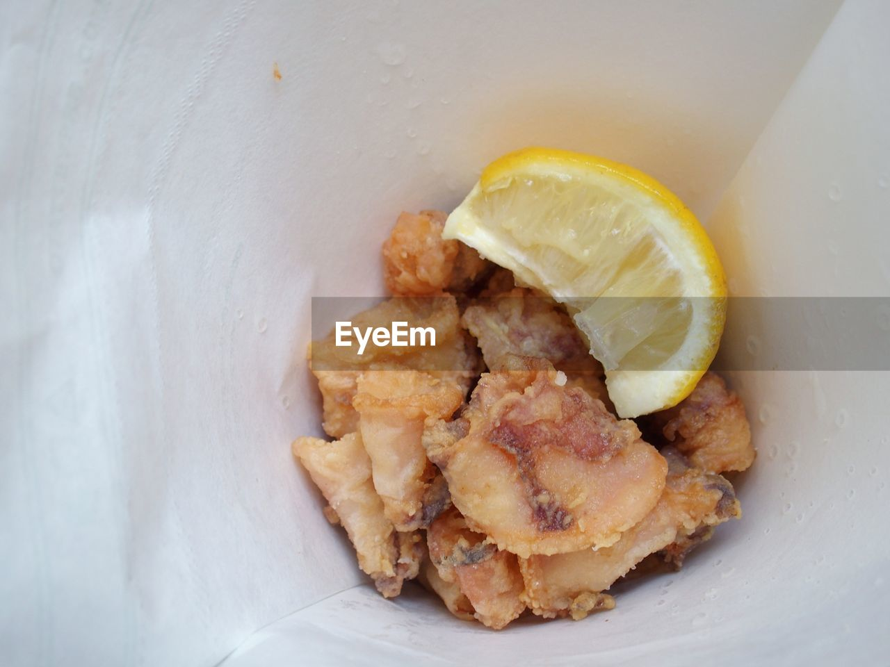 Close-Up Of Fried Seafood