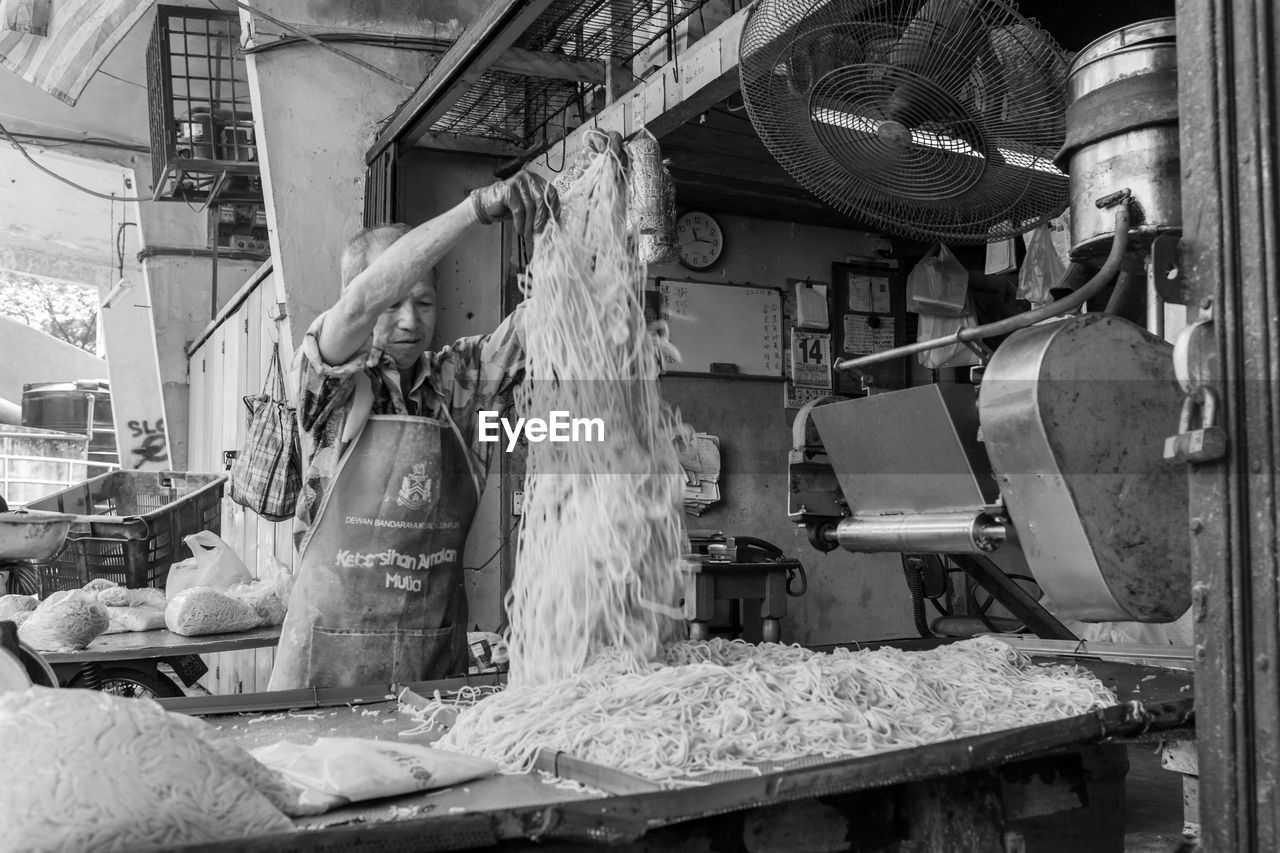 fishing net, market, no people, outdoors, day