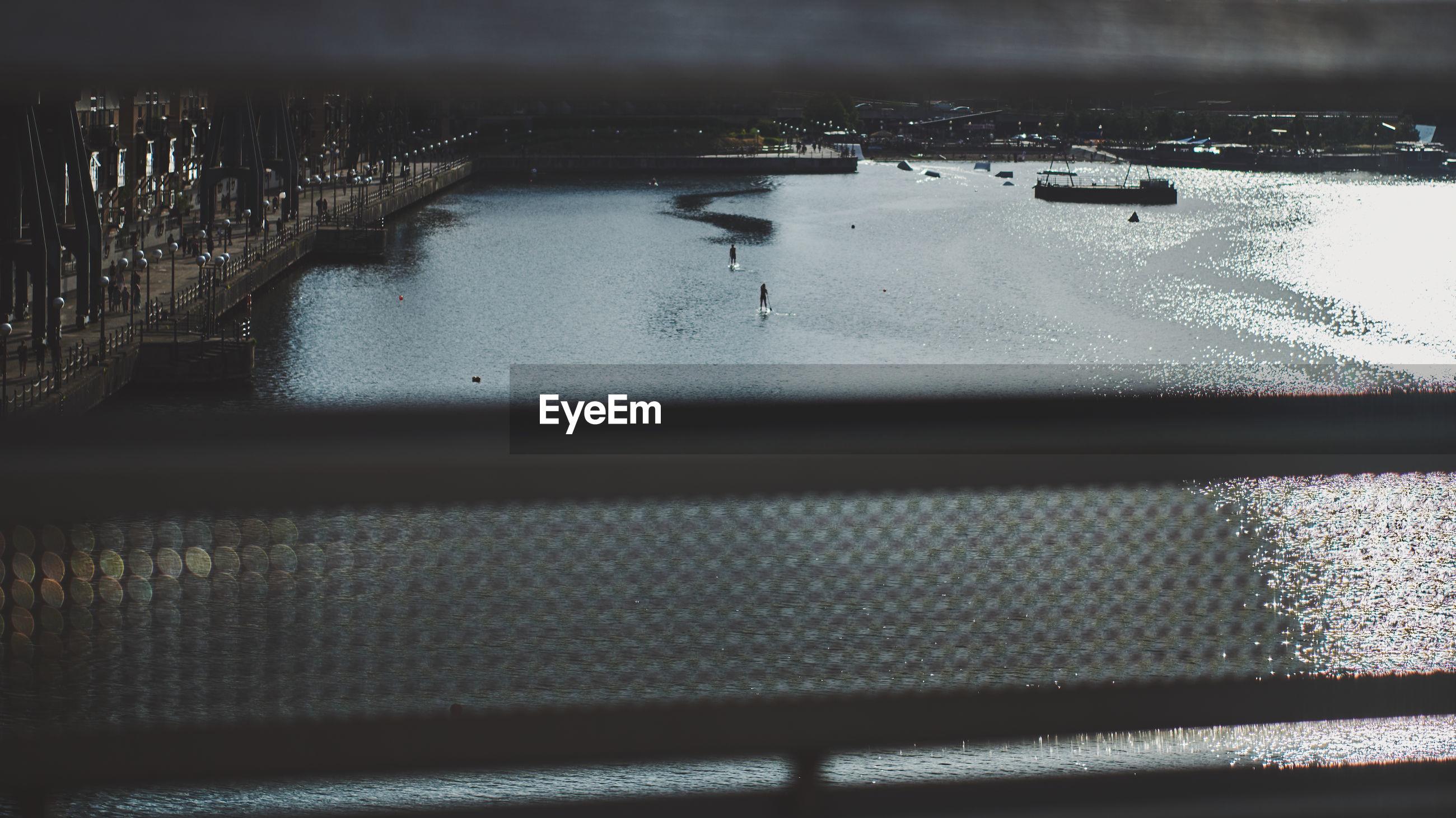 SCENIC VIEW OF RIVER IN WINTER