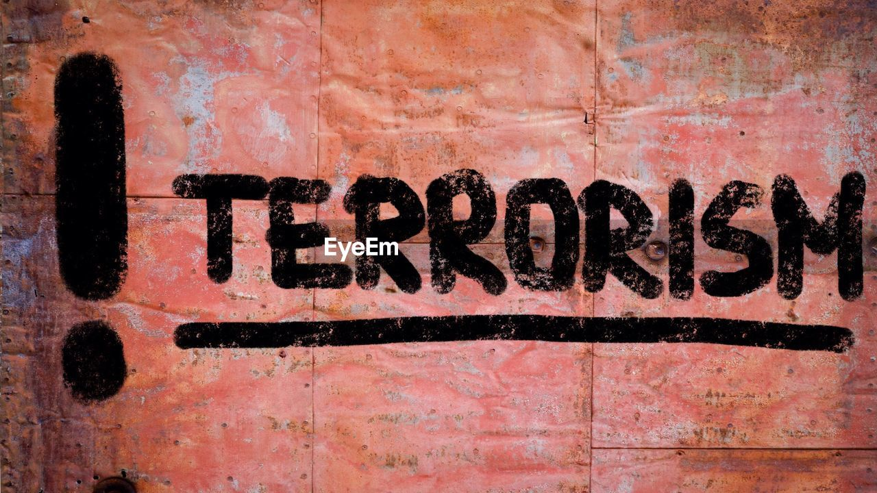 text, communication, western script, wall - building feature, backgrounds, no people, full frame, old, capital letter, graffiti, weathered, architecture, wall, black color, single word, day, textured, rusty, outdoors, paint, message, dirty, textured effect, mural
