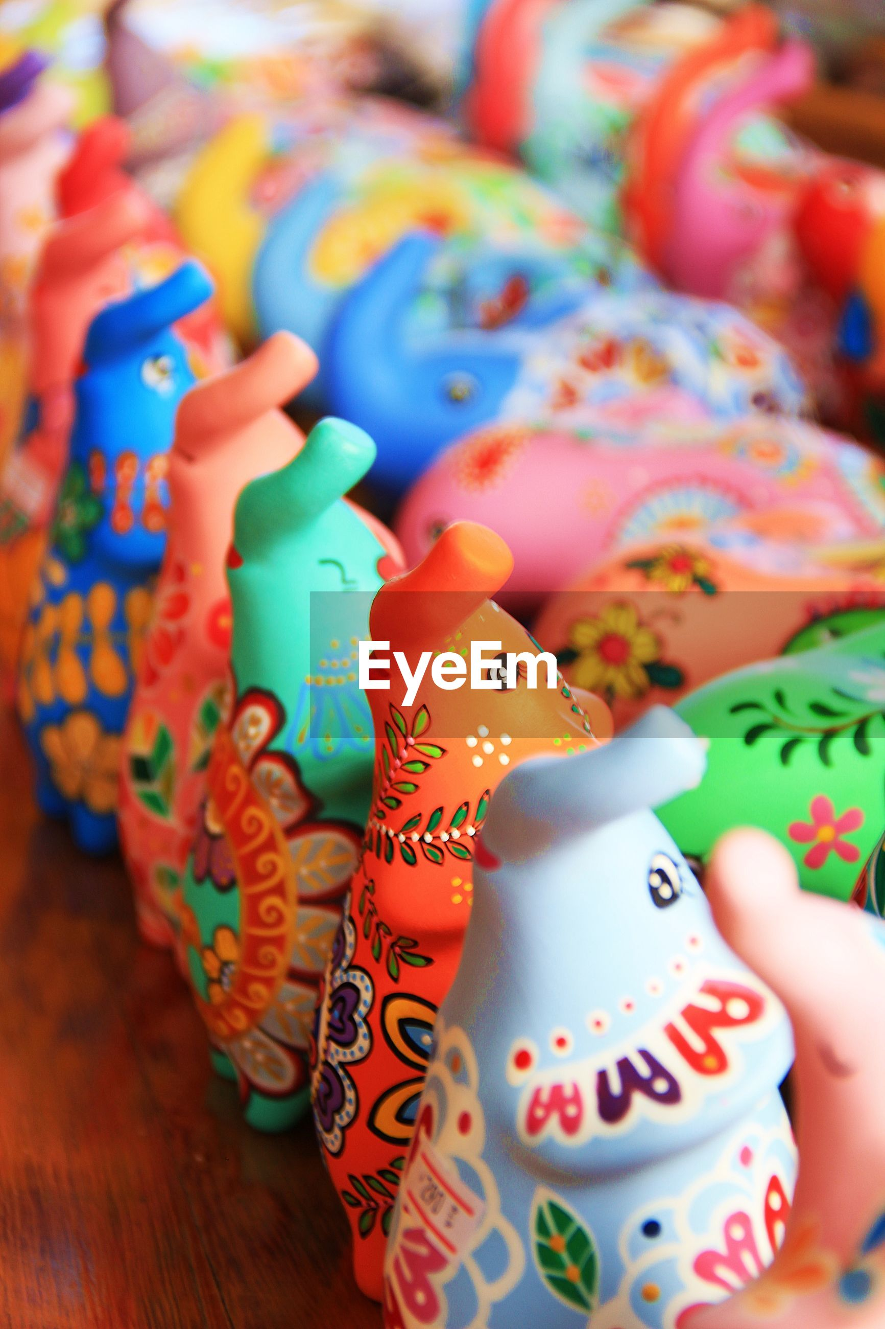 CLOSE-UP OF TOYS