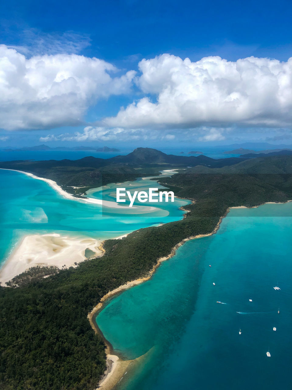 Hill inlet scenic flight tour
