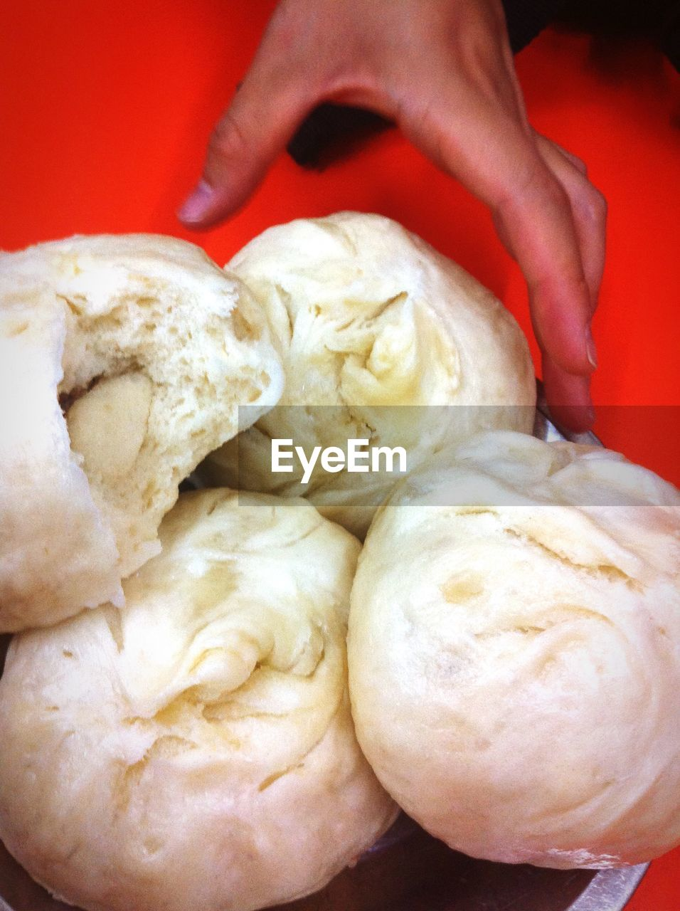 food and drink, human hand, food, human body part, one person, holding, real people, freshness, preparation, indoors, dough, close-up, men, healthy eating, dumpling, day, adult, people