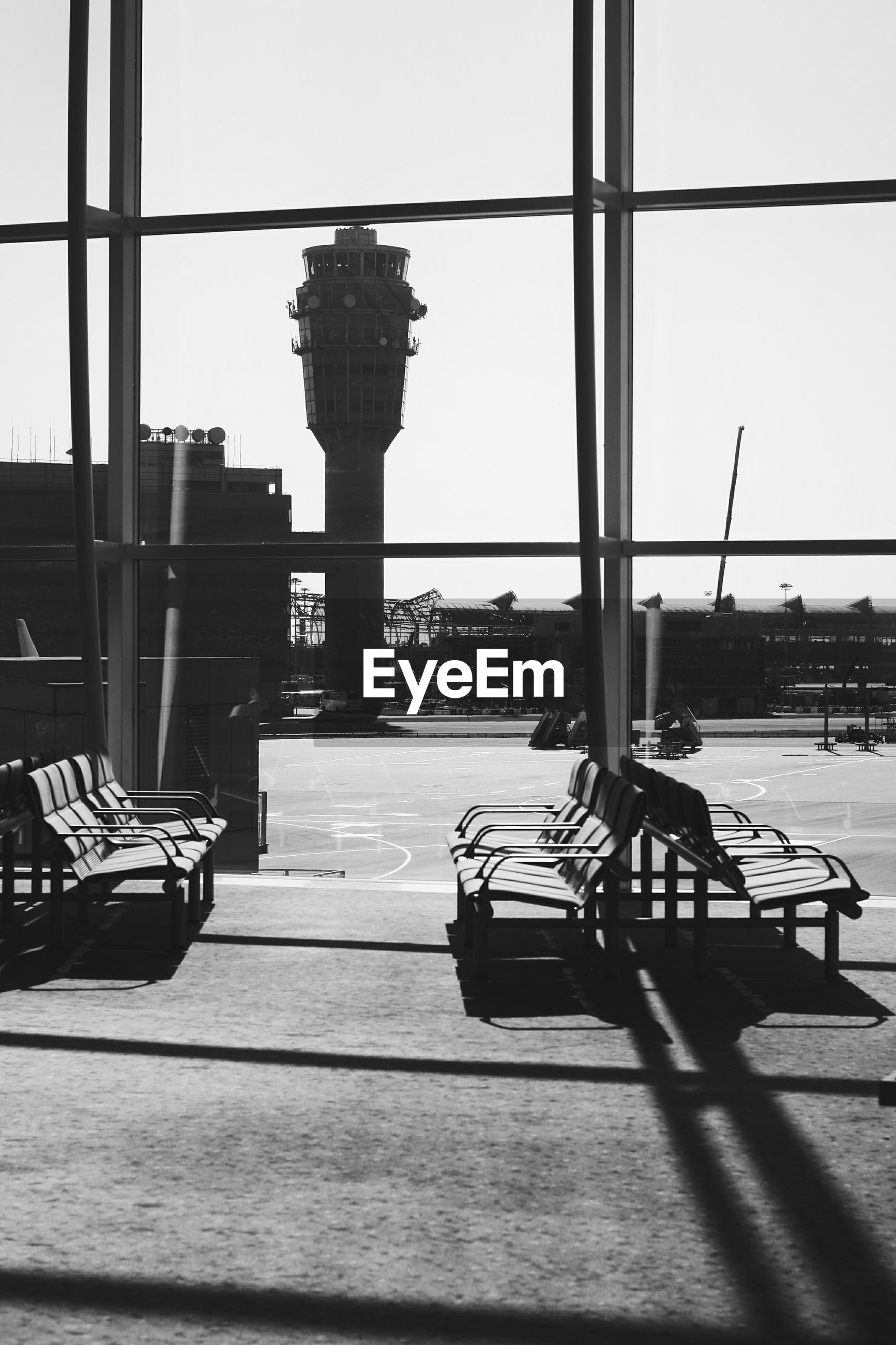 Empty seat at airport