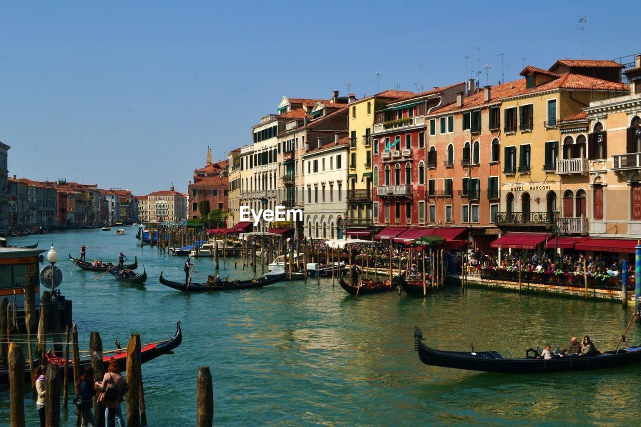 Idyllic Buildings In Venice