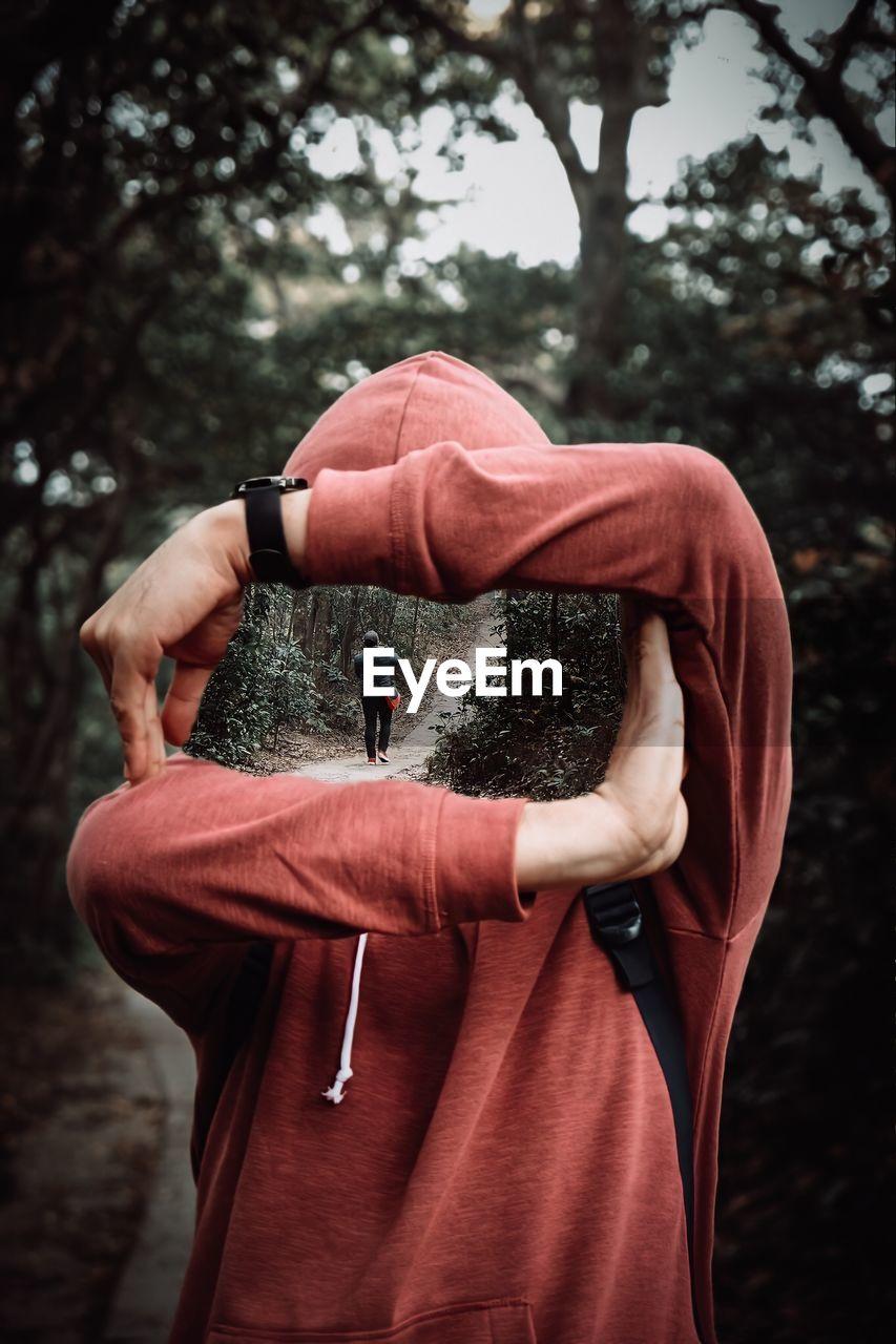 I see you through me