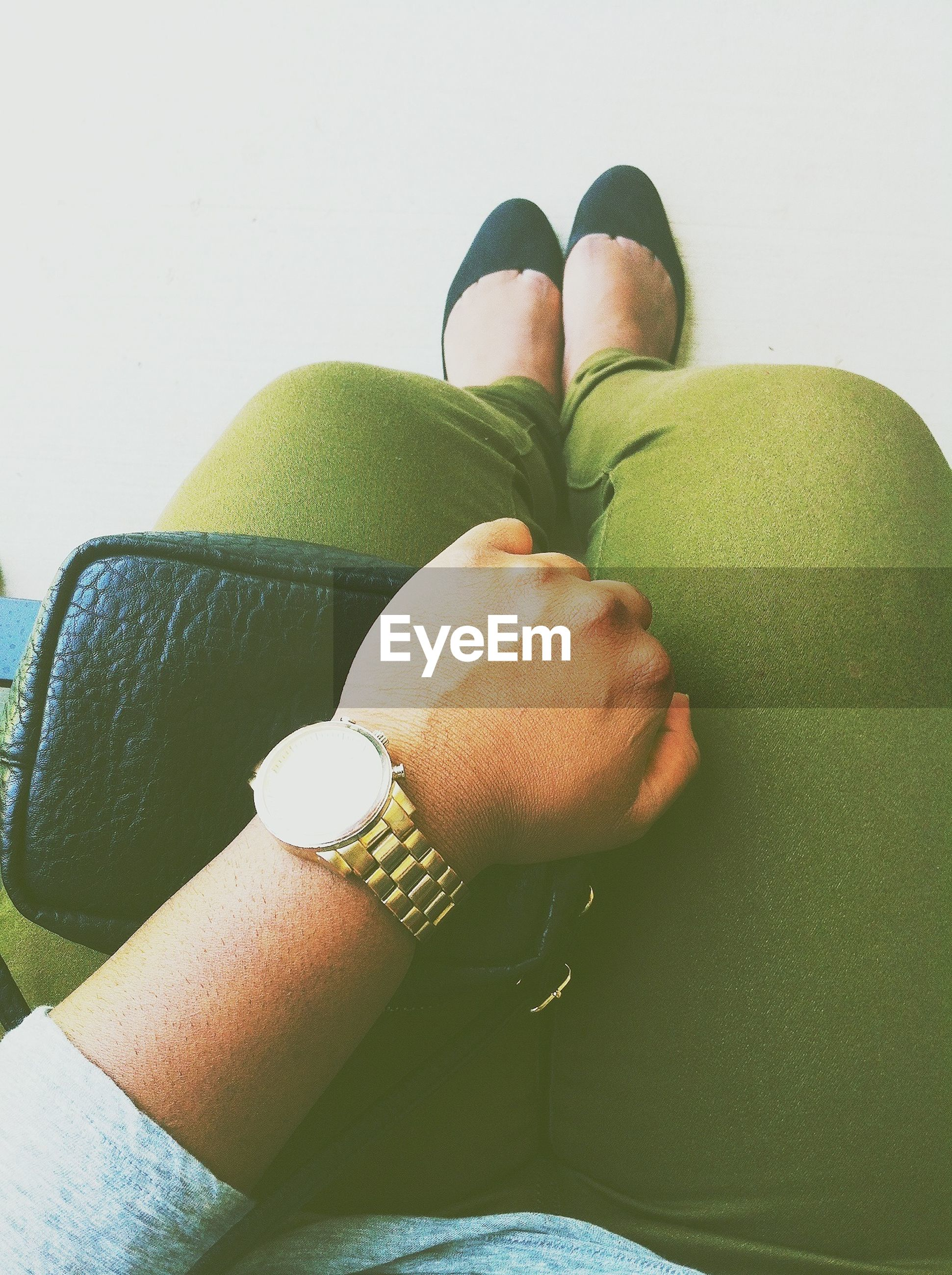 personal perspective, green color, close-up, person, food and drink, low section, part of, shoe, fruit, food, unrecognizable person, holding, day, healthy eating, lifestyles, cropped