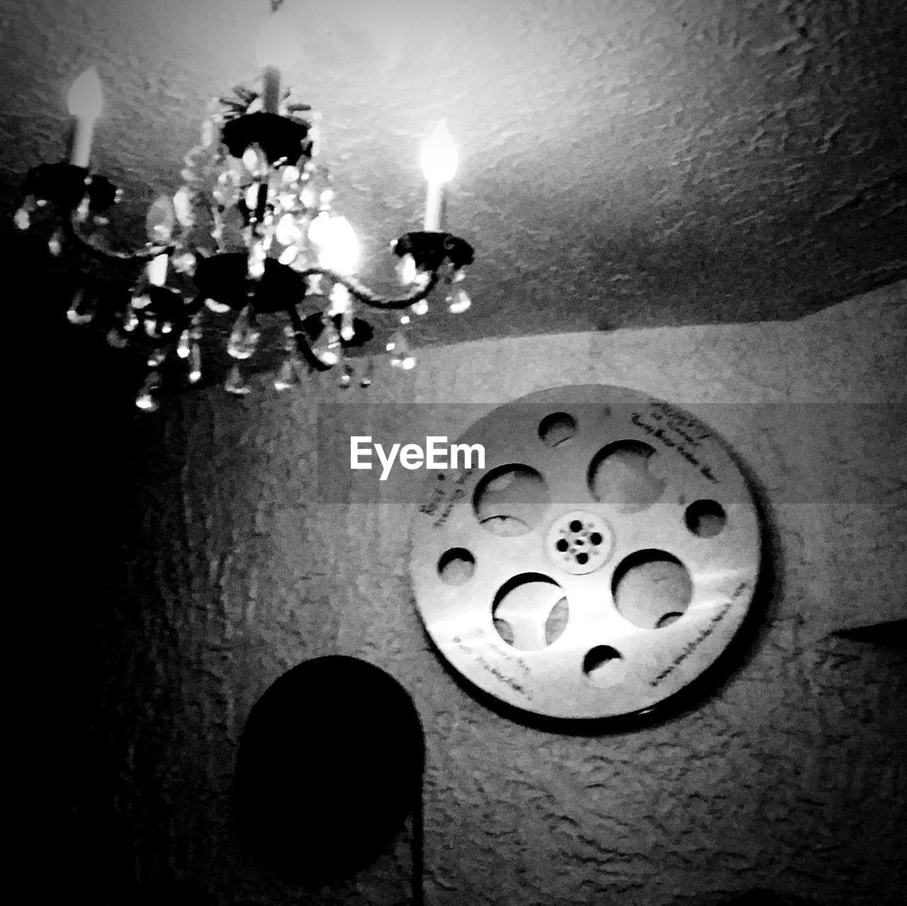 indoors, candle, illuminated, no people, night, flame, close-up