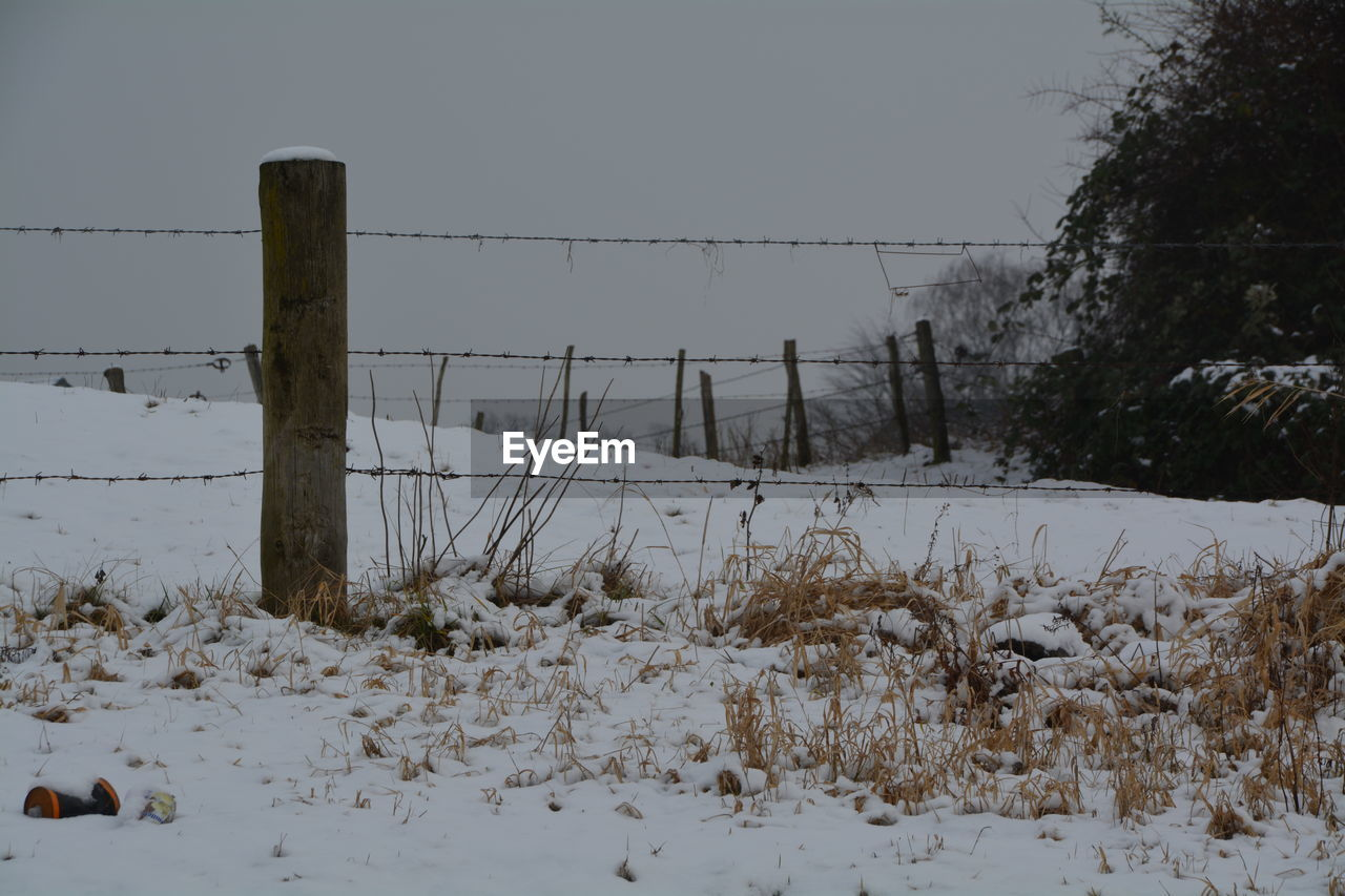 winter, snow, cold temperature, weather, nature, field, outdoors, no people, day, beauty in nature, sky