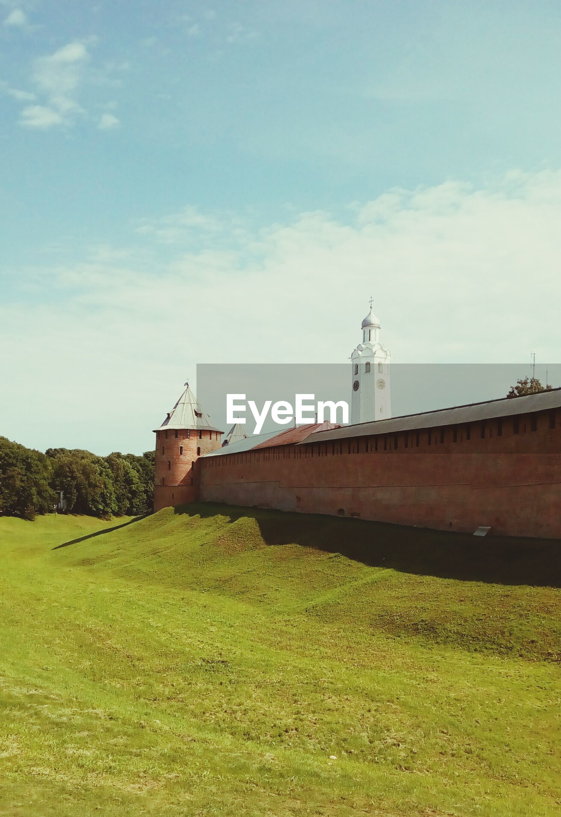Church against sky