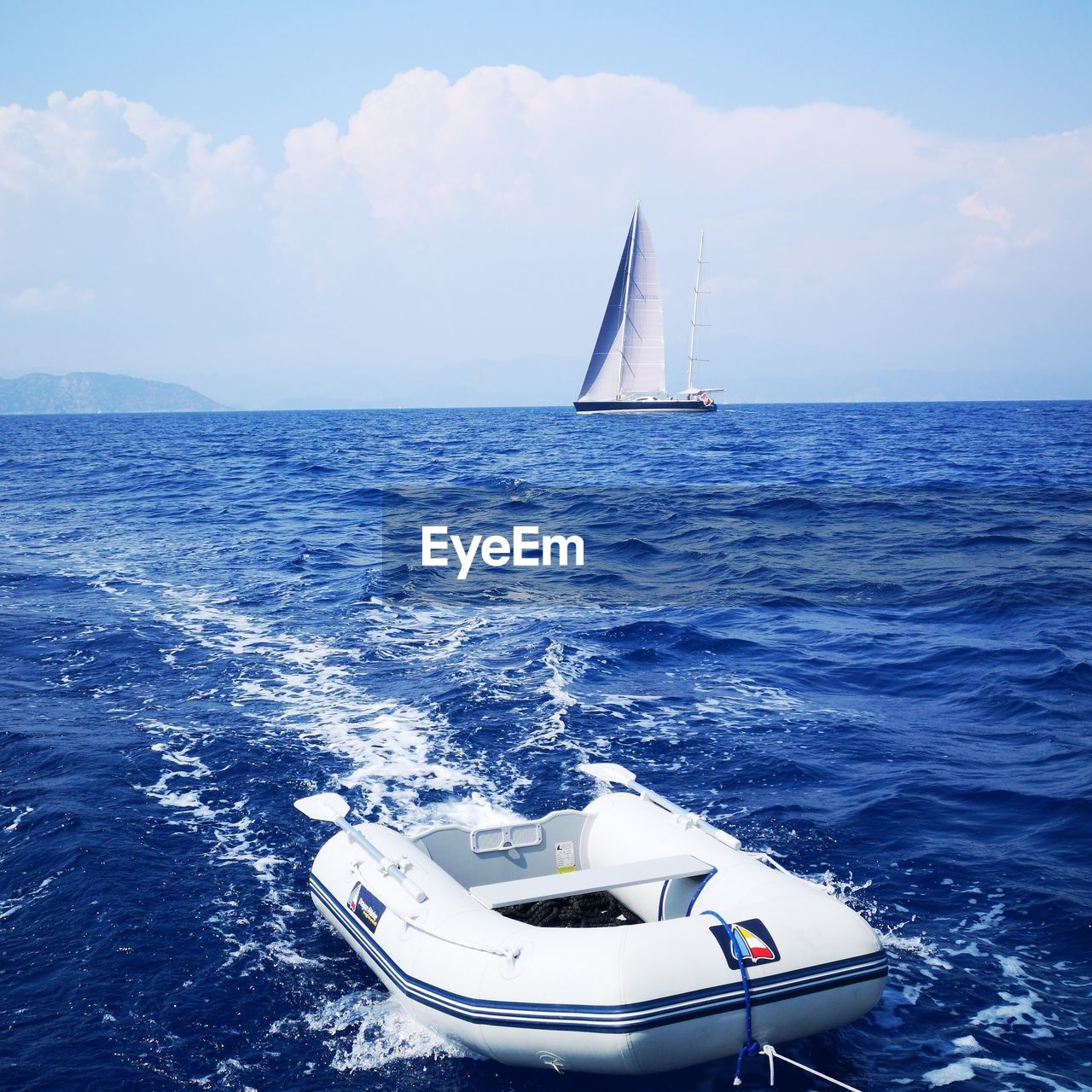nautical vessel, sea, water, transportation, mode of transportation, sky, sailing, sailboat, cloud - sky, horizon over water, scenics - nature, horizon, day, nature, beauty in nature, travel, no people, waterfront, ship, luxury, outdoors, yacht, yachting, inflatable