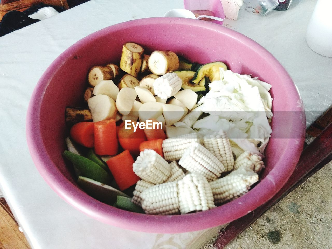 food and drink, food, bowl, high angle view, no people, healthy eating, freshness, indoors, close-up, day, ready-to-eat