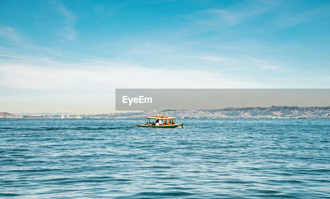 nautical vessel, transportation, water, mode of transportation, sea, sky, waterfront, cloud - sky, scenics - nature, nature, beauty in nature, sailing, day, travel, no people, on the move, outdoors, motion, tranquility, passenger craft