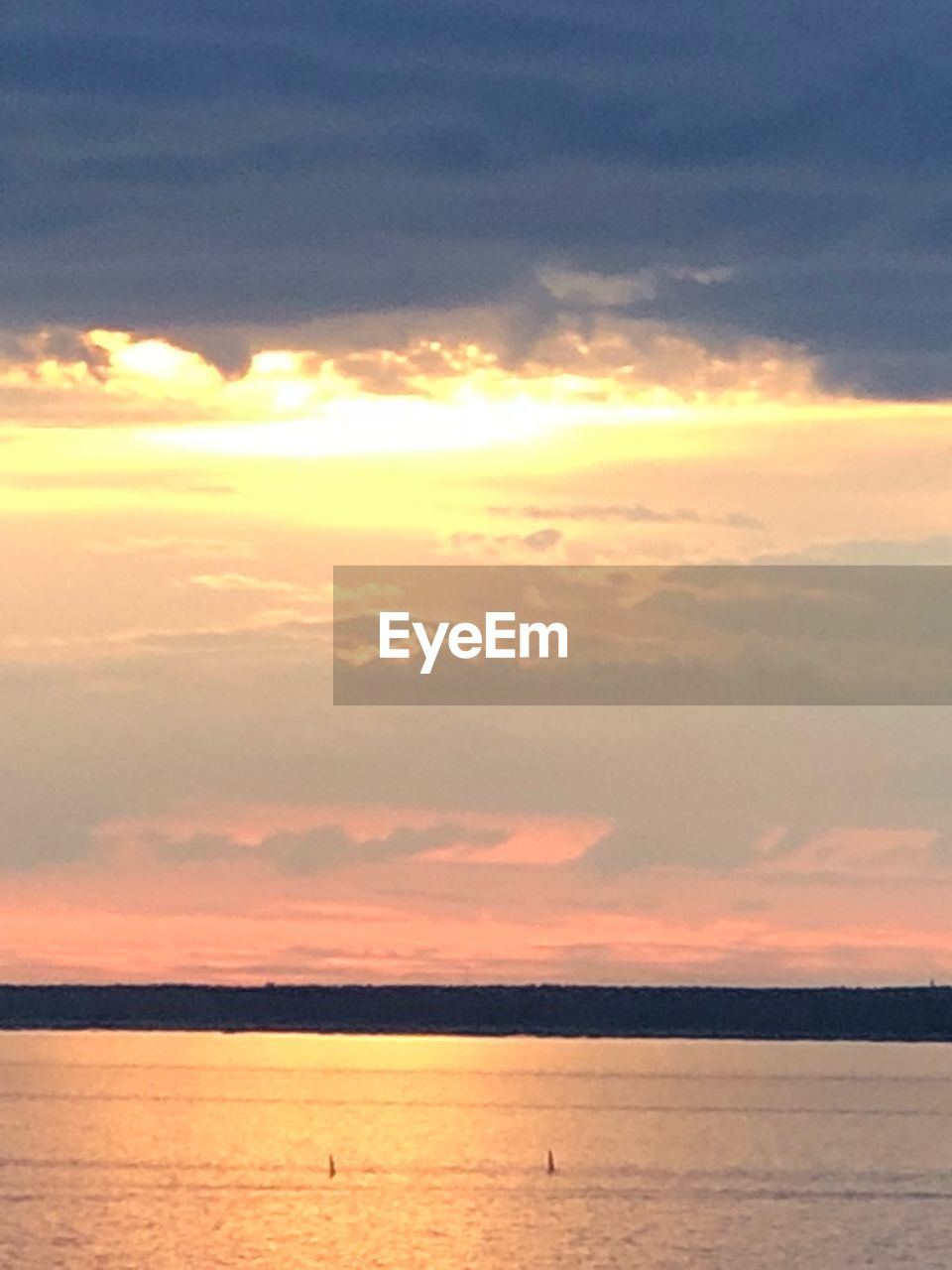 sky, sunset, cloud - sky, scenics - nature, beauty in nature, water, sea, orange color, tranquility, tranquil scene, nature, horizon over water, no people, horizon, idyllic, waterfront, outdoors, sun, non-urban scene