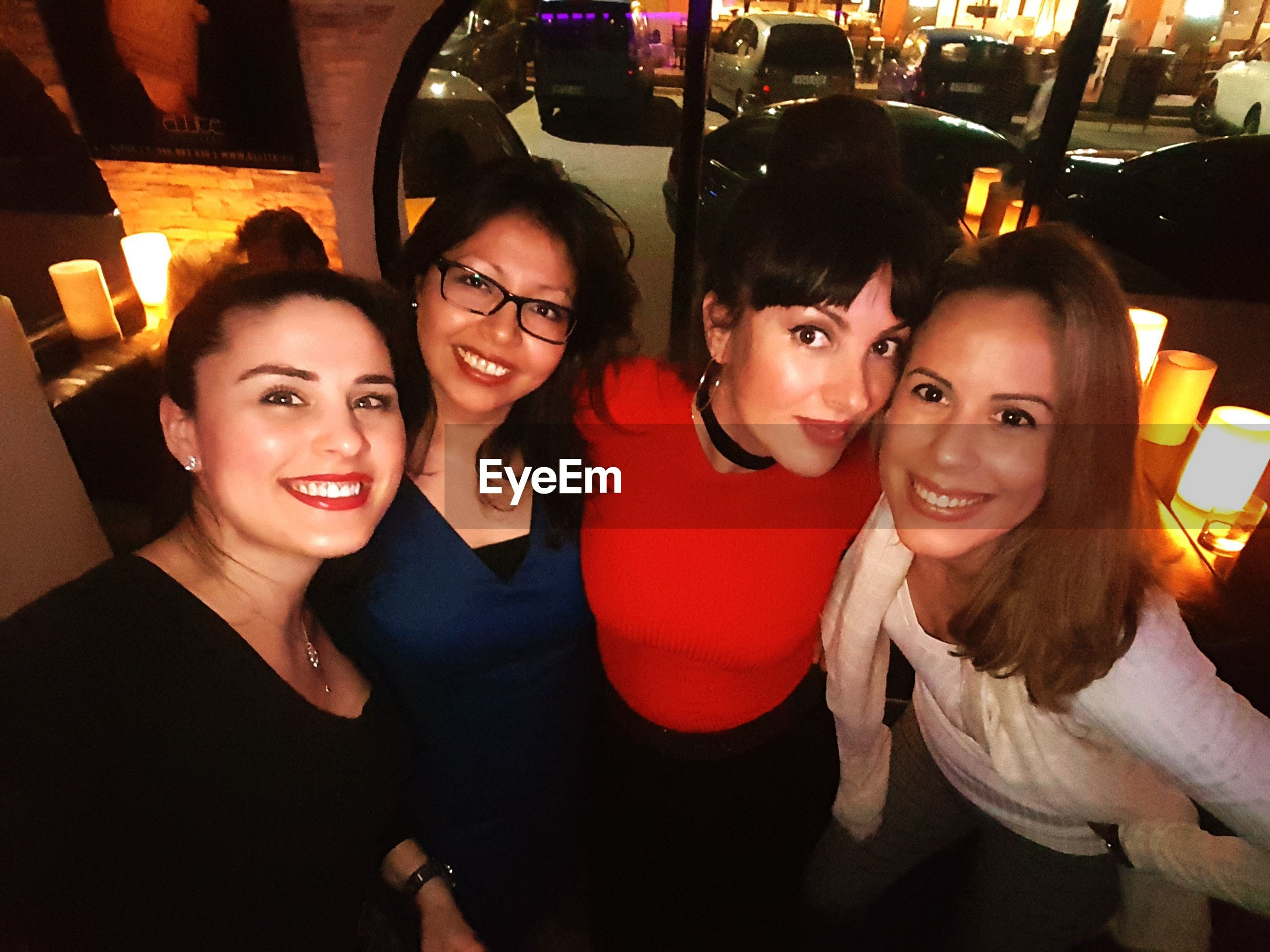 nightlife, night, smiling, portrait, travel, adults only, happiness, togetherness, toothy smile, cheerful, looking at camera, beautiful people, young women, young adult, friendship, fun, adult, enjoyment, people, women, lifestyles, communication, selfie, city, vacations, clubbing, beautiful woman, only women, indoors
