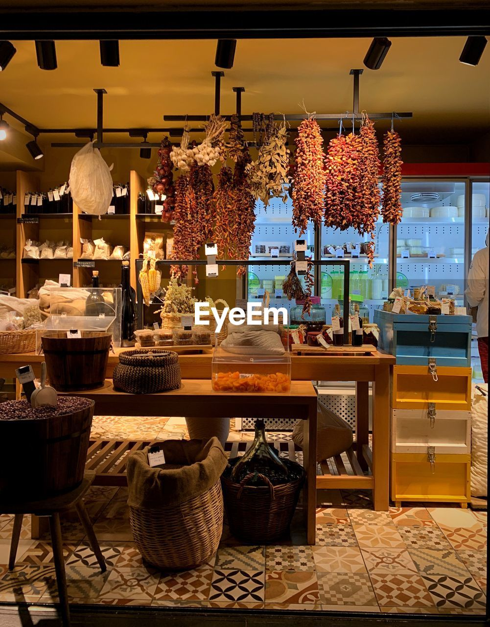 business, indoors, table, illuminated, small business, hanging, no people, food and drink, restaurant, lighting equipment, decoration, seat, large group of objects, container, retail, freshness, choice, for sale, variation, store, electric lamp