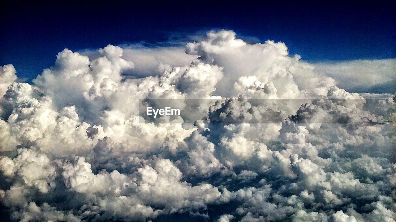 Full Frame Shot Of Clouds In Sky