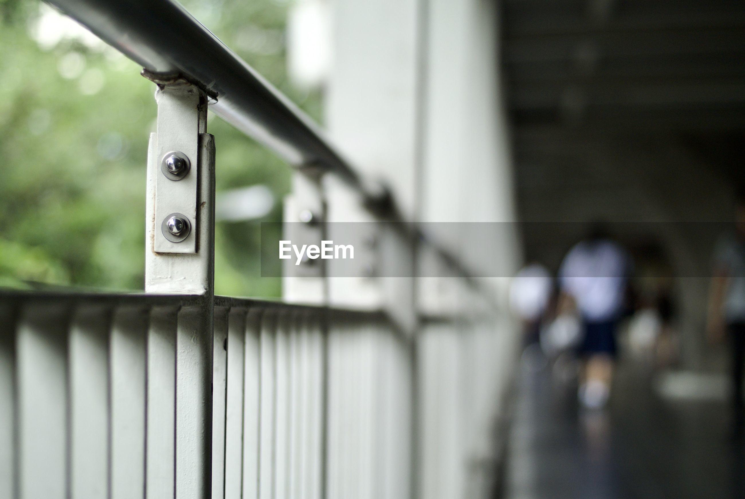 Close-up railing