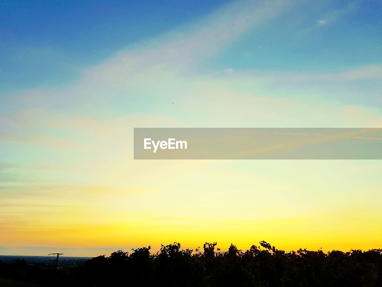 sunset, sky, silhouette, tree, beauty in nature, scenics, nature, no people, tranquility, tranquil scene, outdoors, day