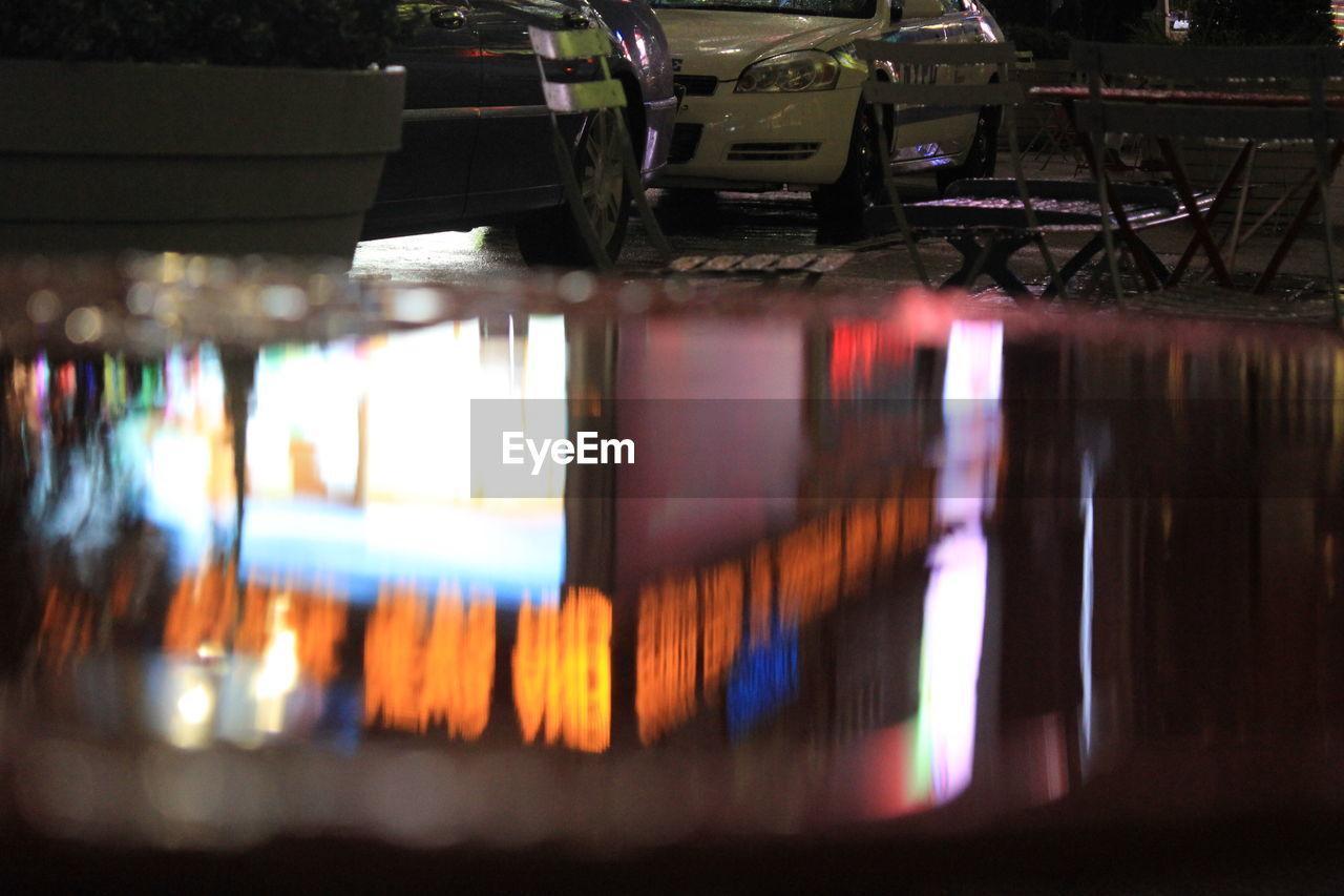 illuminated, lighting equipment, night, no people, indoors, architecture, city, close-up