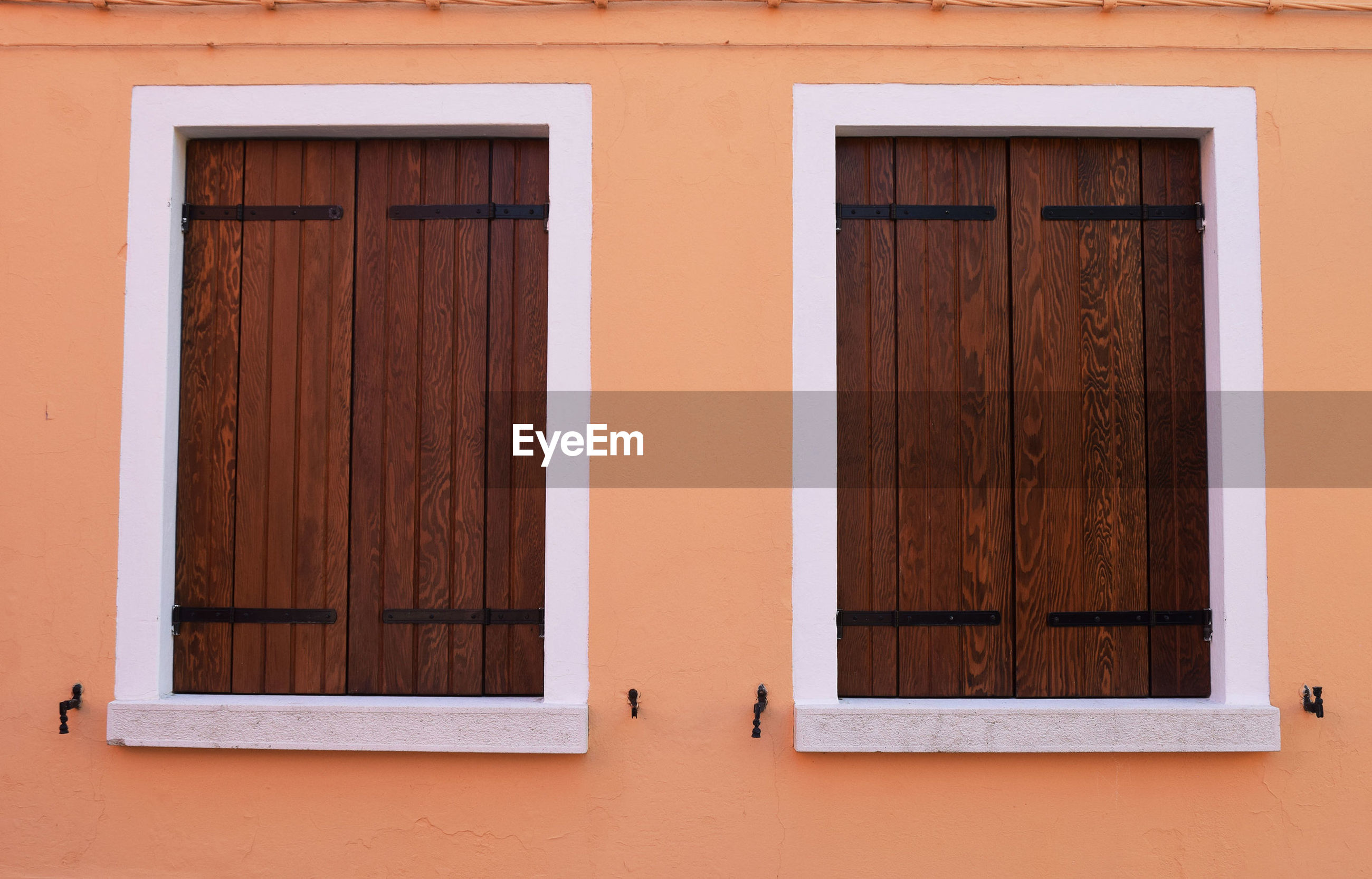 View of windows in wall