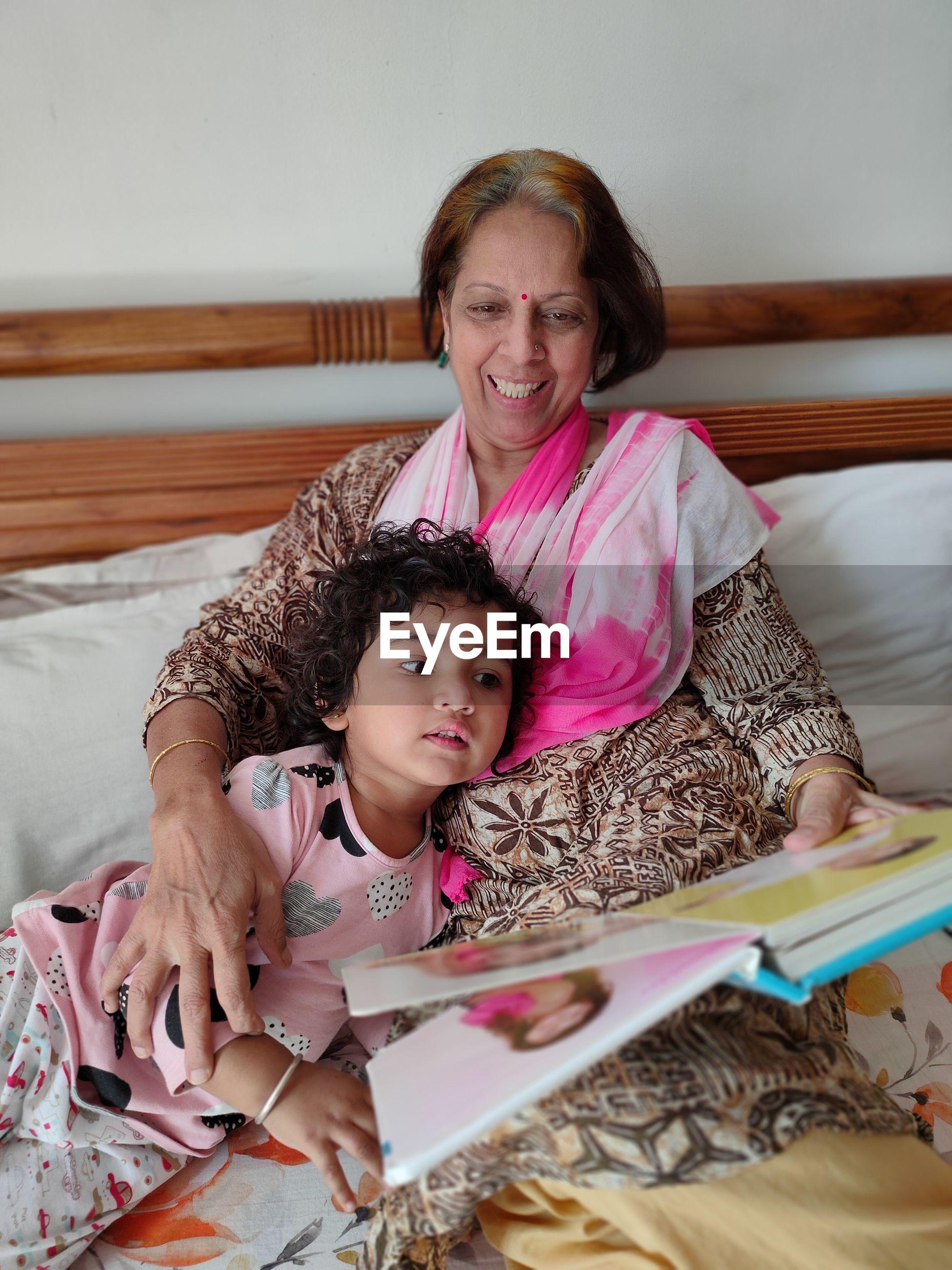 Relation between grandma and granddaughter