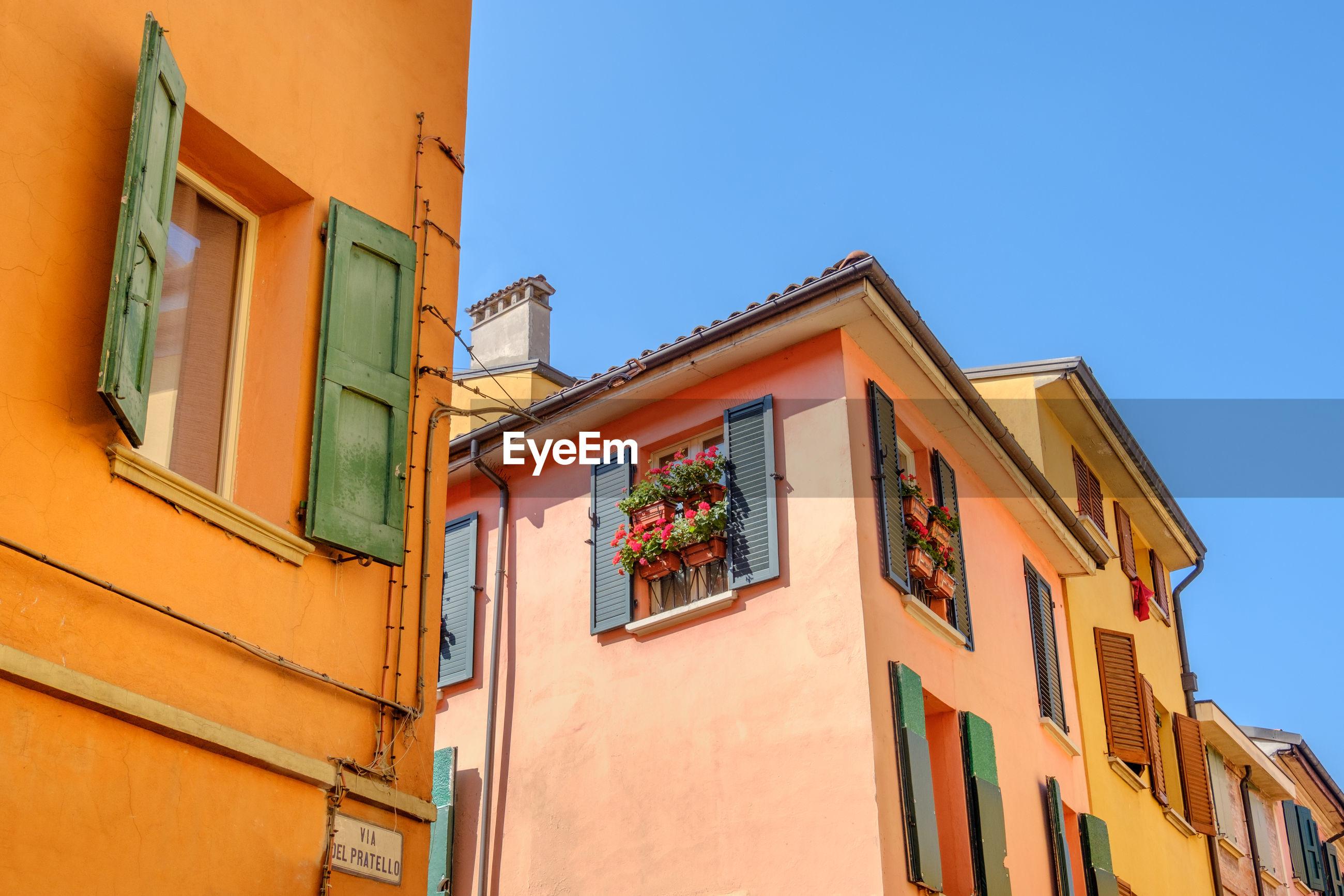Italian houses bologna via del pratello emilia romagna italy