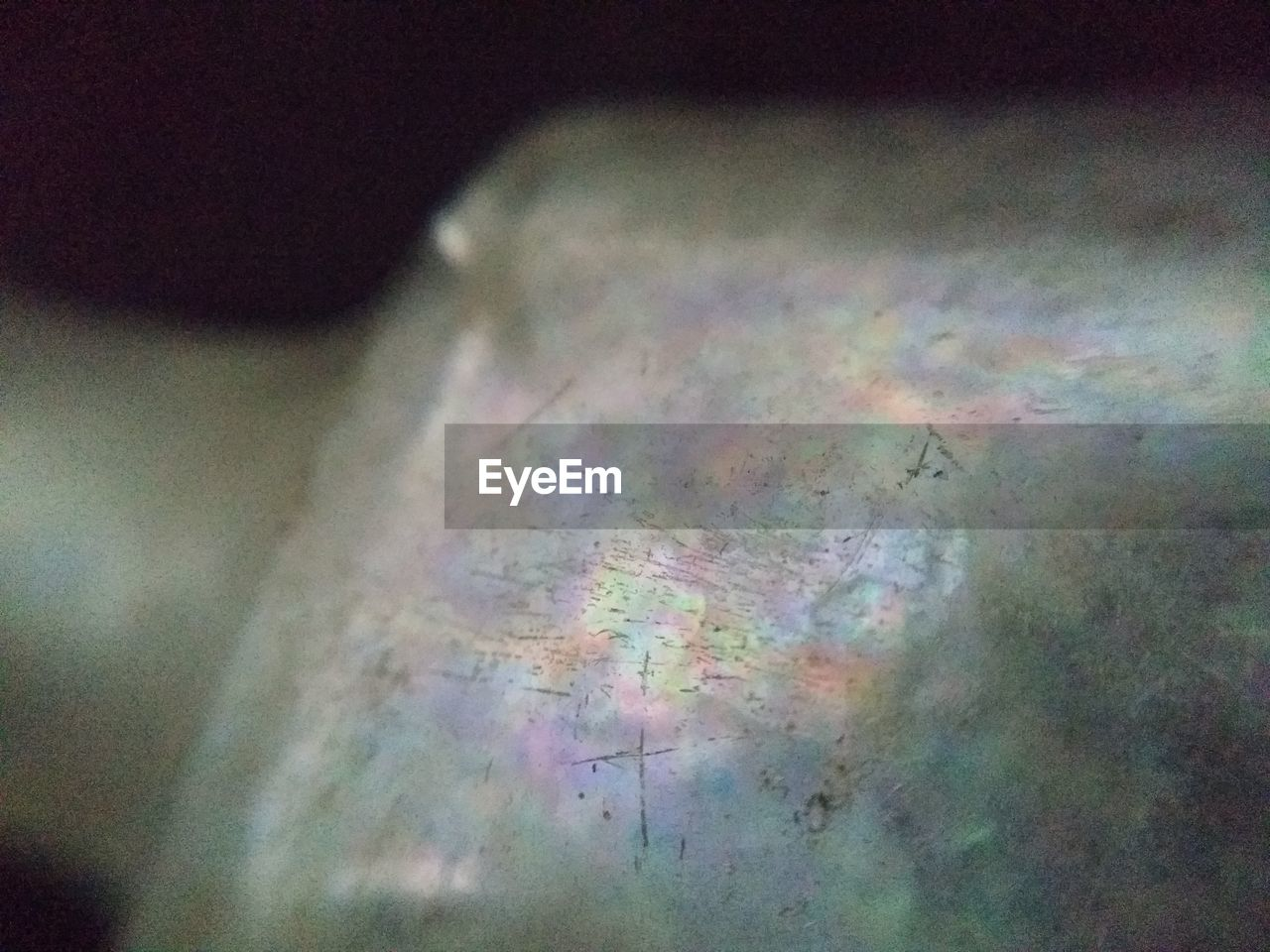 multi colored, high angle view, no people, oil spill, day, close-up, indoors