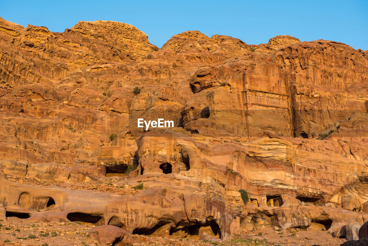 rock, rock formation, rock - object, solid, physical geography, nature, geology, scenics - nature, travel, tranquility, sky, beauty in nature, tranquil scene, travel destinations, mountain, environment, climate, non-urban scene, no people, sunlight, arid climate, mountain range, eroded, outdoors, formation, sandstone