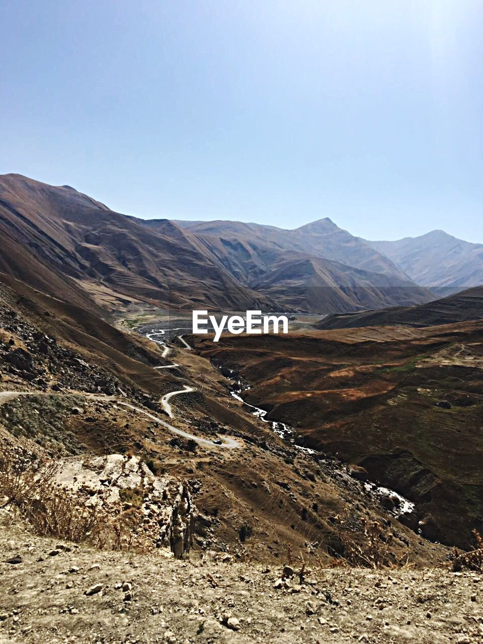 mountain, landscape, mountain range, scenics, nature, outdoors, beauty in nature, day, tranquility, arid climate, no people, sky