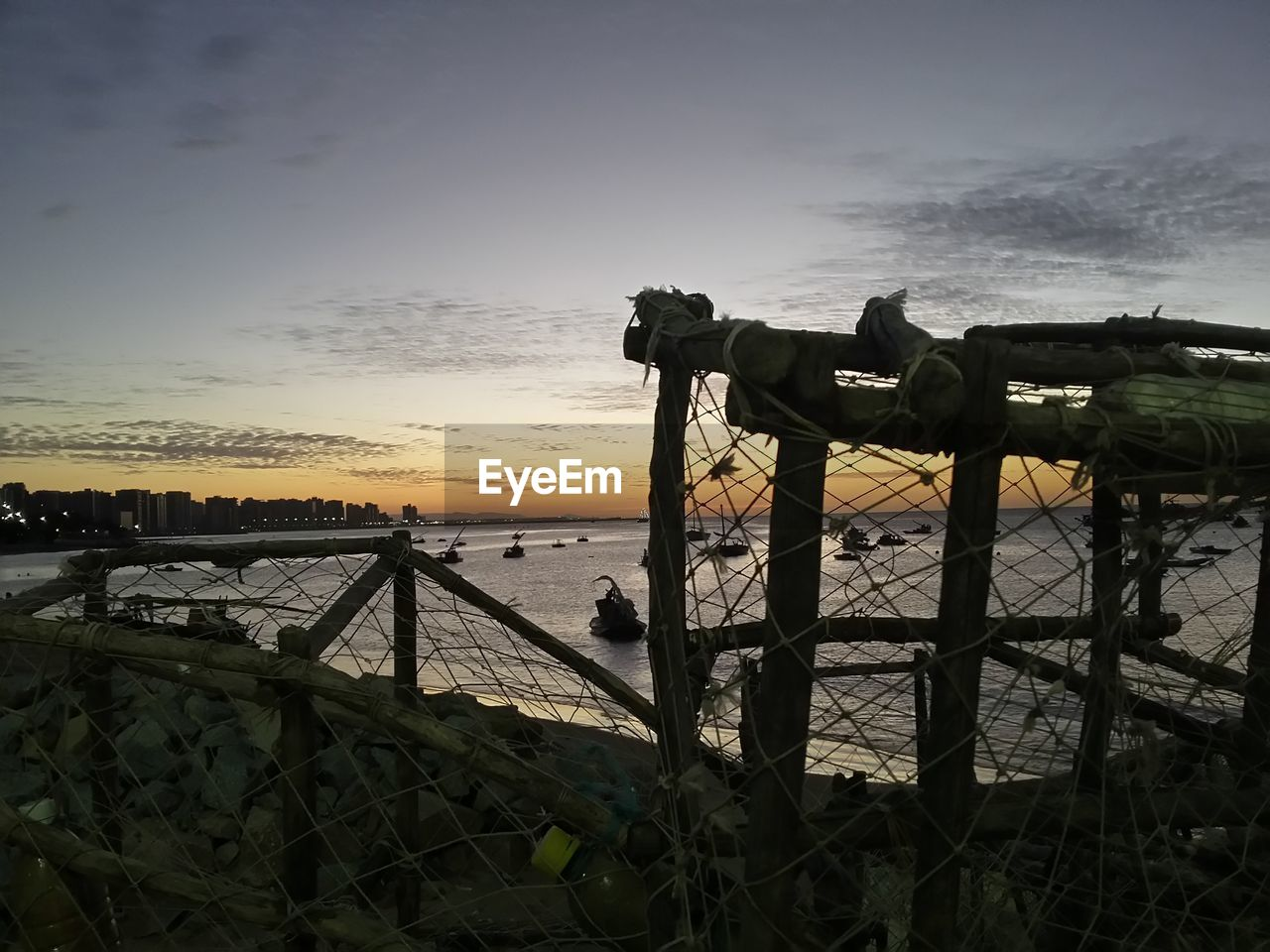 sunset, sea, sky, outdoors, water, cloud - sky, no people, horizon over water, nature, beauty in nature, coin-operated binoculars, day