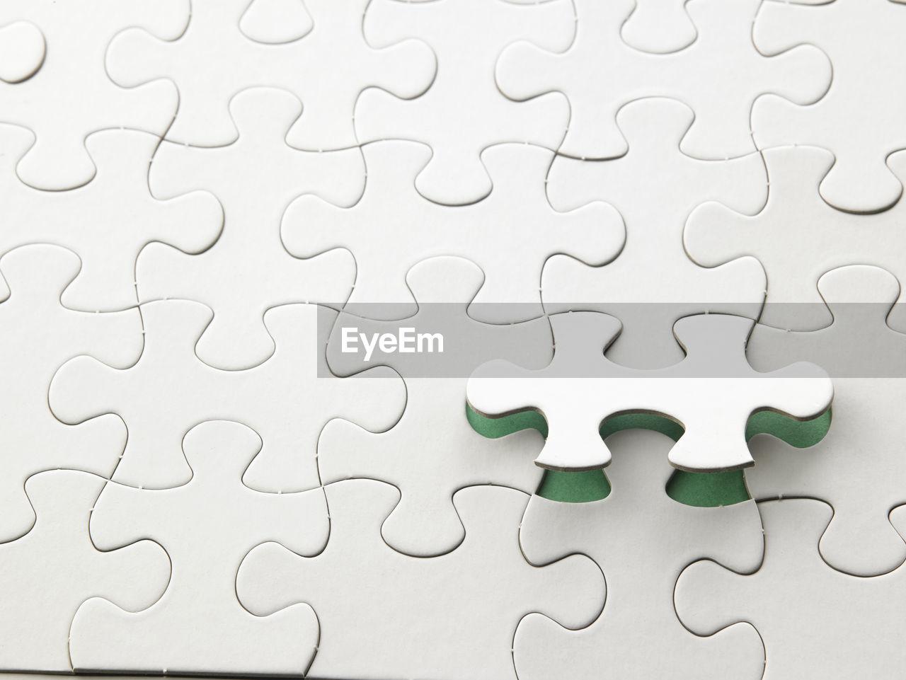 Full Frame Shot Of Puzzle