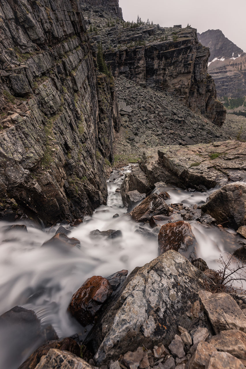 rock, solid, rock - object, water, beauty in nature, scenics - nature, rock formation, nature, no people, long exposure, mountain, motion, day, land, non-urban scene, tranquility, cliff, blurred motion, tranquil scene, outdoors, flowing water, formation, eroded, flowing, power in nature