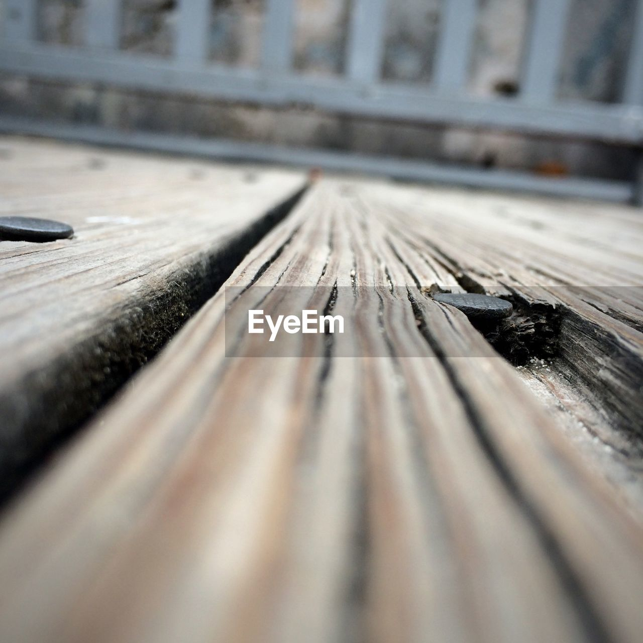 Surface Level Of Wooden Bench