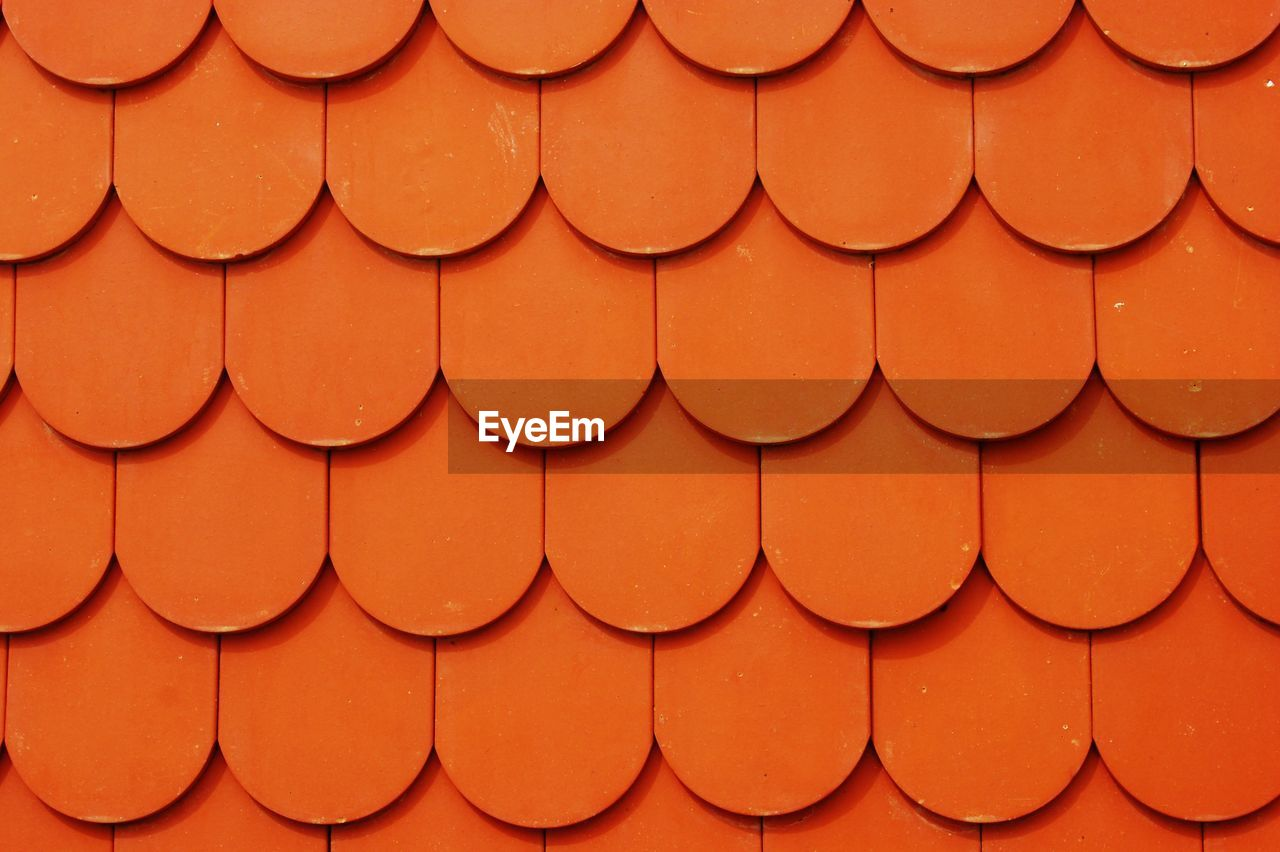 Full Frame Shot Of Wooden Roof