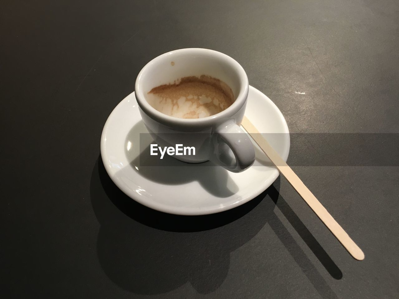 food and drink, coffee cup, drink, refreshment, coffee - drink, saucer, high angle view, no people, freshness, table, close-up, indoors, food, day