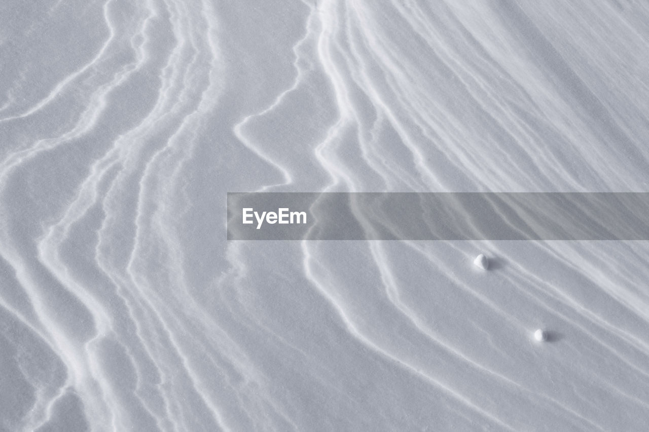 Full Frame Shot Of Snowy Landscape