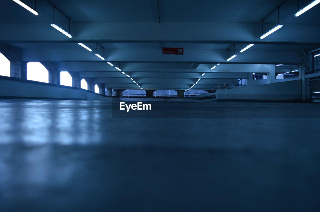 Surface Level Of Empty Corridor