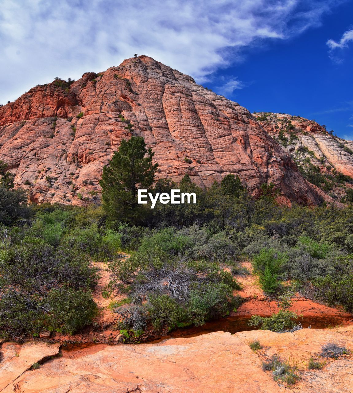 sky, rock, rock formation, rock - object, mountain, geology, scenics - nature, non-urban scene, solid, tranquil scene, physical geography, beauty in nature, nature, environment, landscape, tranquility, no people, day, cloud - sky, plant, mountain range, formation, eroded, outdoors, arid climate, climate, mountain peak, sandstone