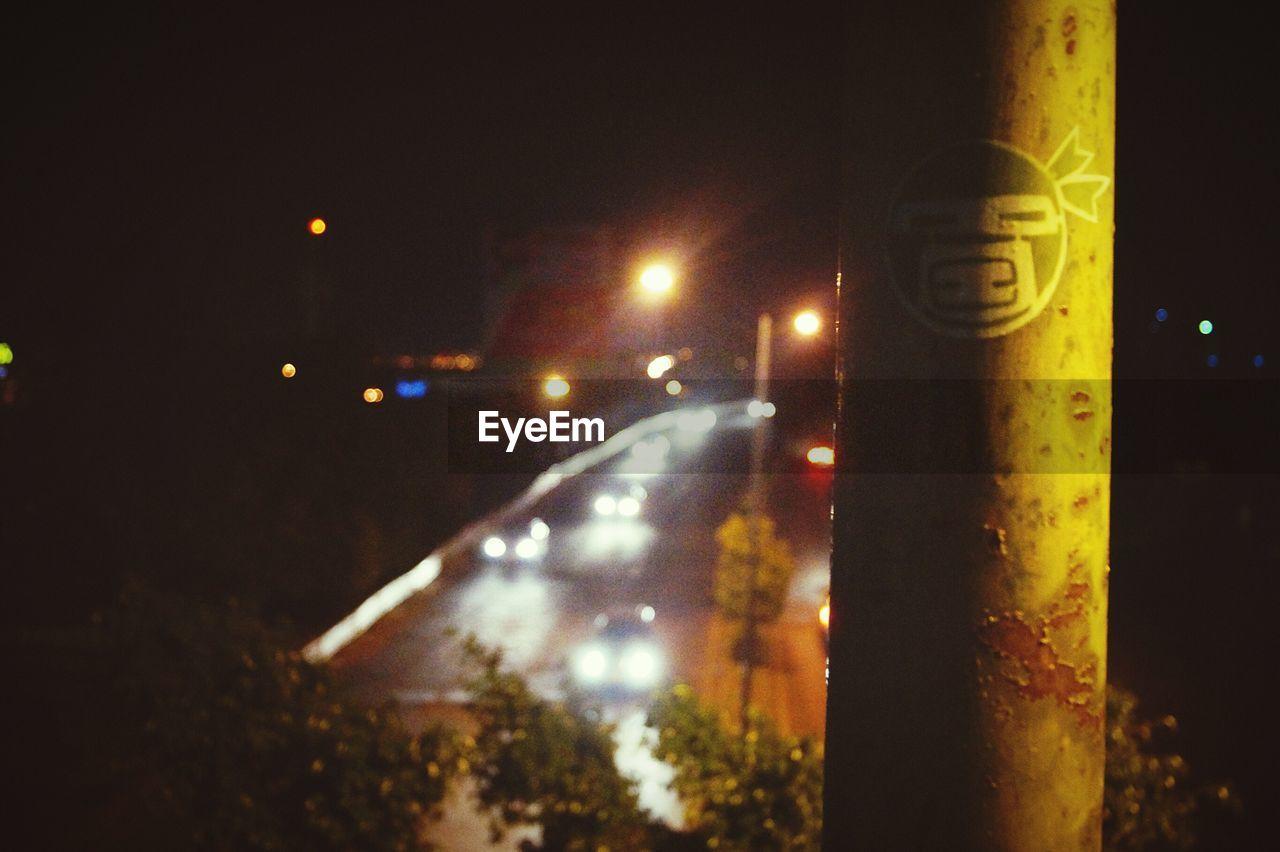 illuminated, night, no people, close-up, outdoors, sky