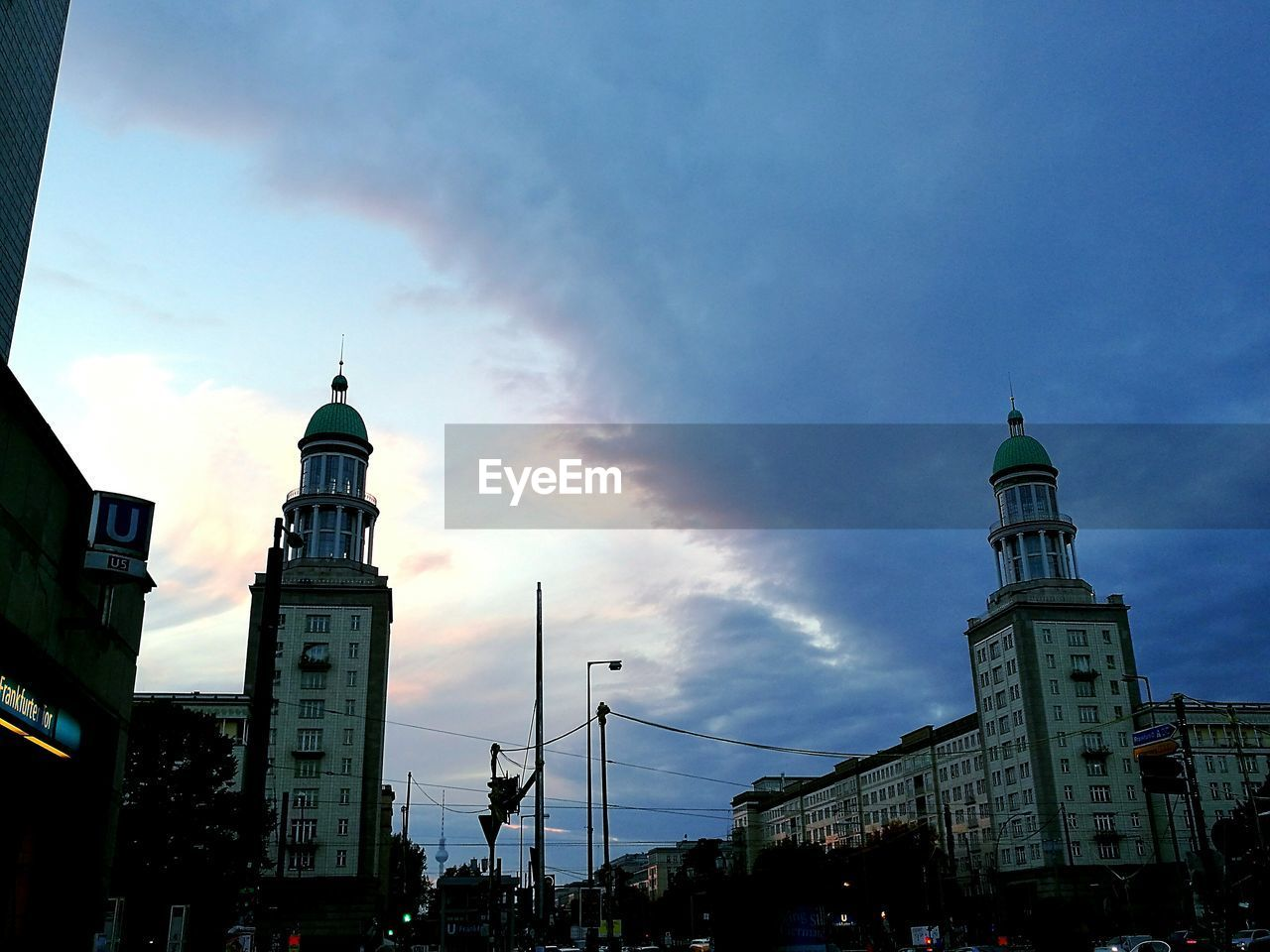 religion, architecture, spirituality, sky, built structure, place of worship, city, building exterior, outdoors, no people, day