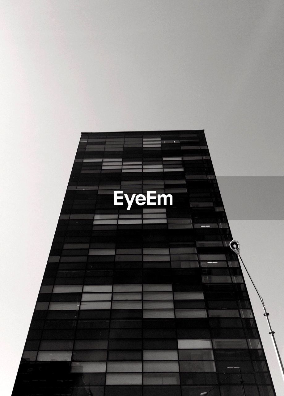 modern, architecture, low angle view, building exterior, built structure, growth, skyscraper, tall, clear sky, no people, outdoors, city, day, sky