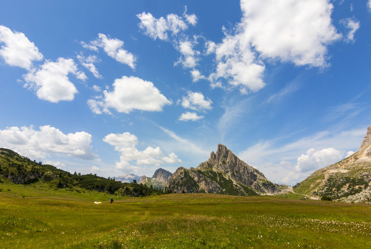 mountain, nature, grass, landscape, scenics, beauty in nature, sky, tranquility, no people, day, scenery, mountain range, outdoors