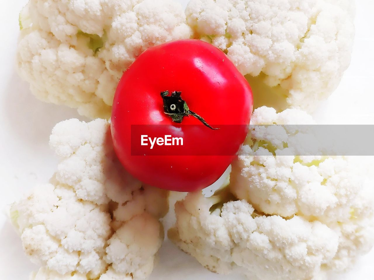 vegetable, healthy eating, freshness, food, food and drink, close-up, red, tomato, wellbeing, indoors, no people, fruit, cauliflower, still life, white color, rice - food staple, ingredient, ready-to-eat, cherry tomato, cereal plant, vegetarian food