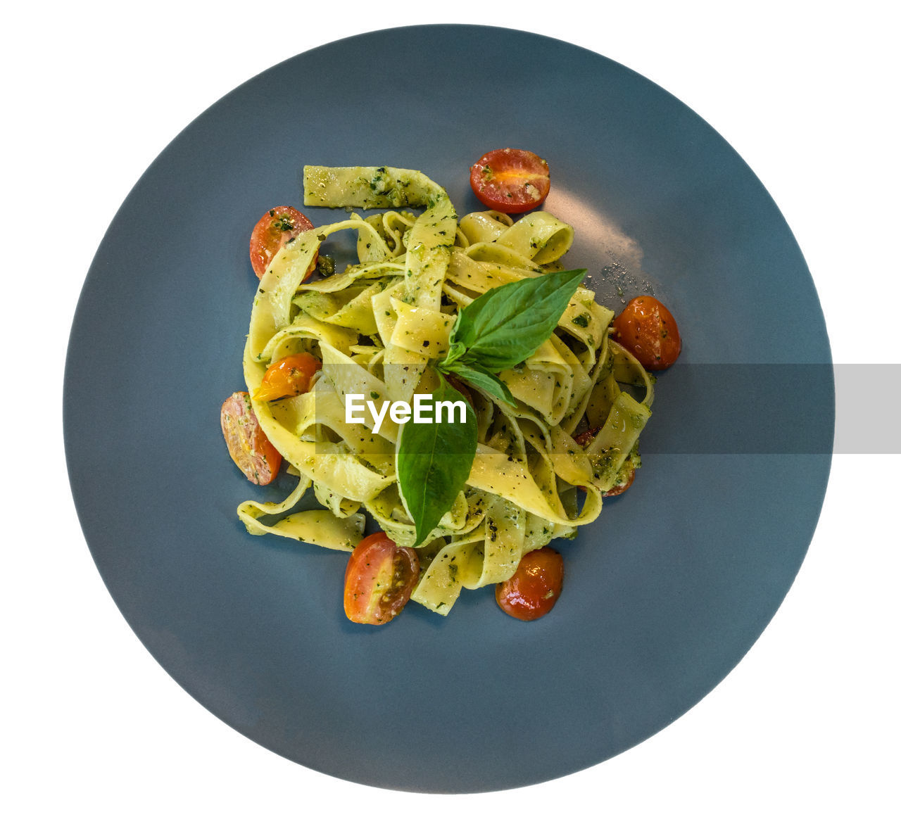 food and drink, food, plate, freshness, studio shot, still life, healthy eating, indoors, wellbeing, ready-to-eat, white background, vegetable, pasta, directly above, italian food, no people, high angle view, serving size, close-up, fruit, garnish, crockery, temptation, vegetarian food