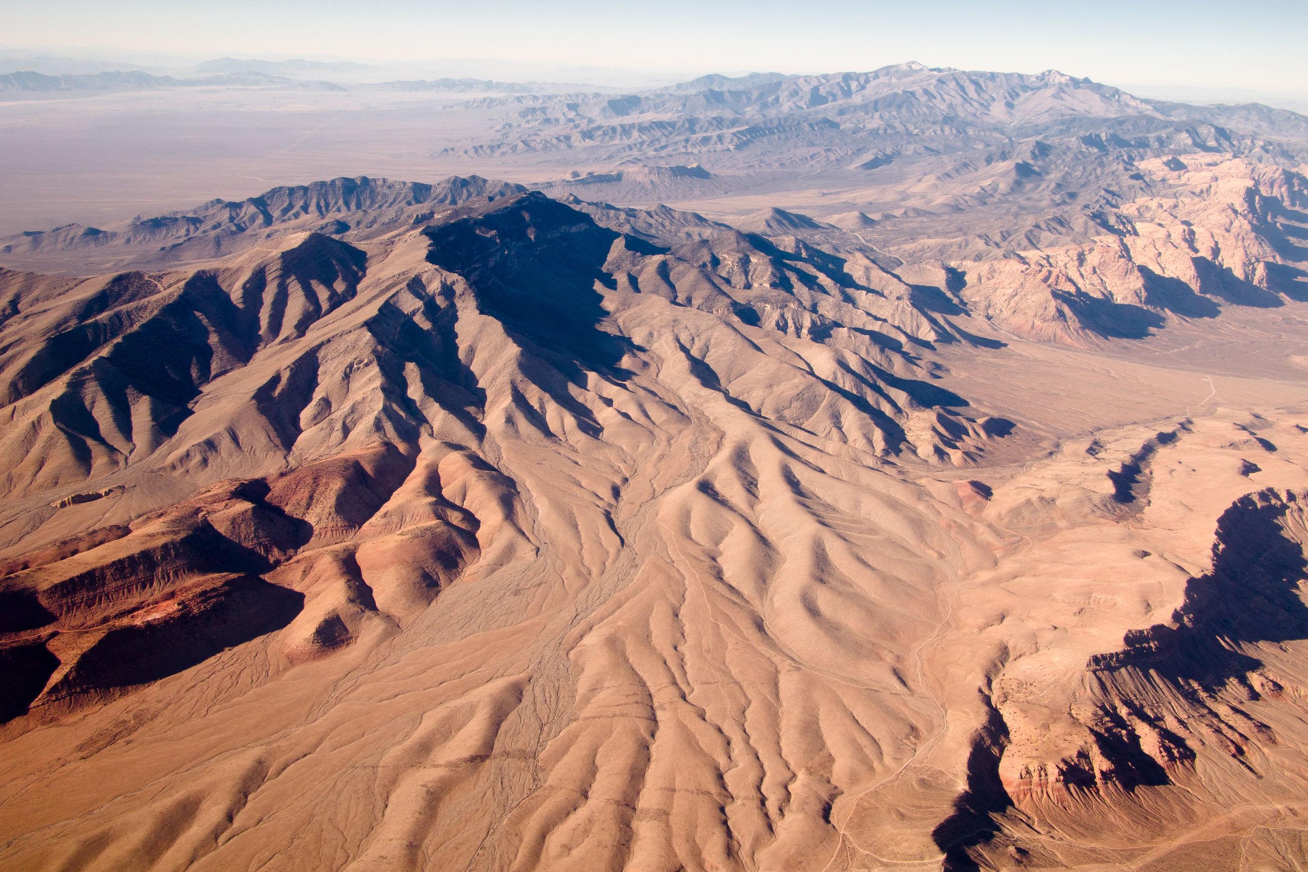View of deserted landscape