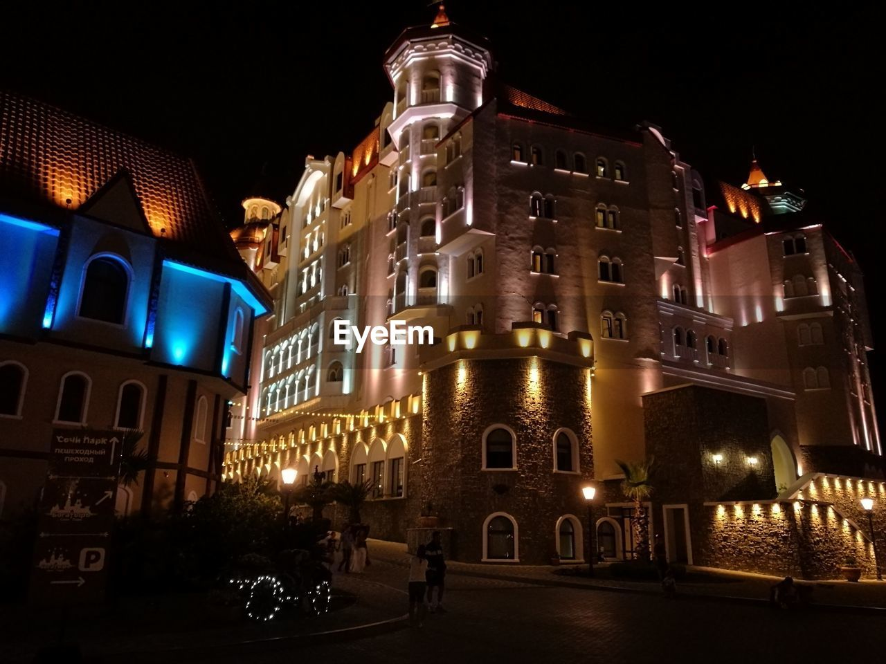 night, architecture, illuminated, building exterior, built structure, no people, city, outdoors